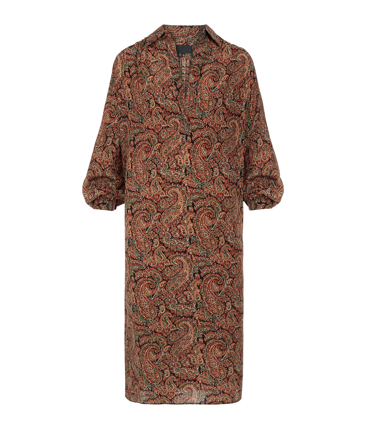 NILI LOTAN - Robe Kesia Imprimé Paisley