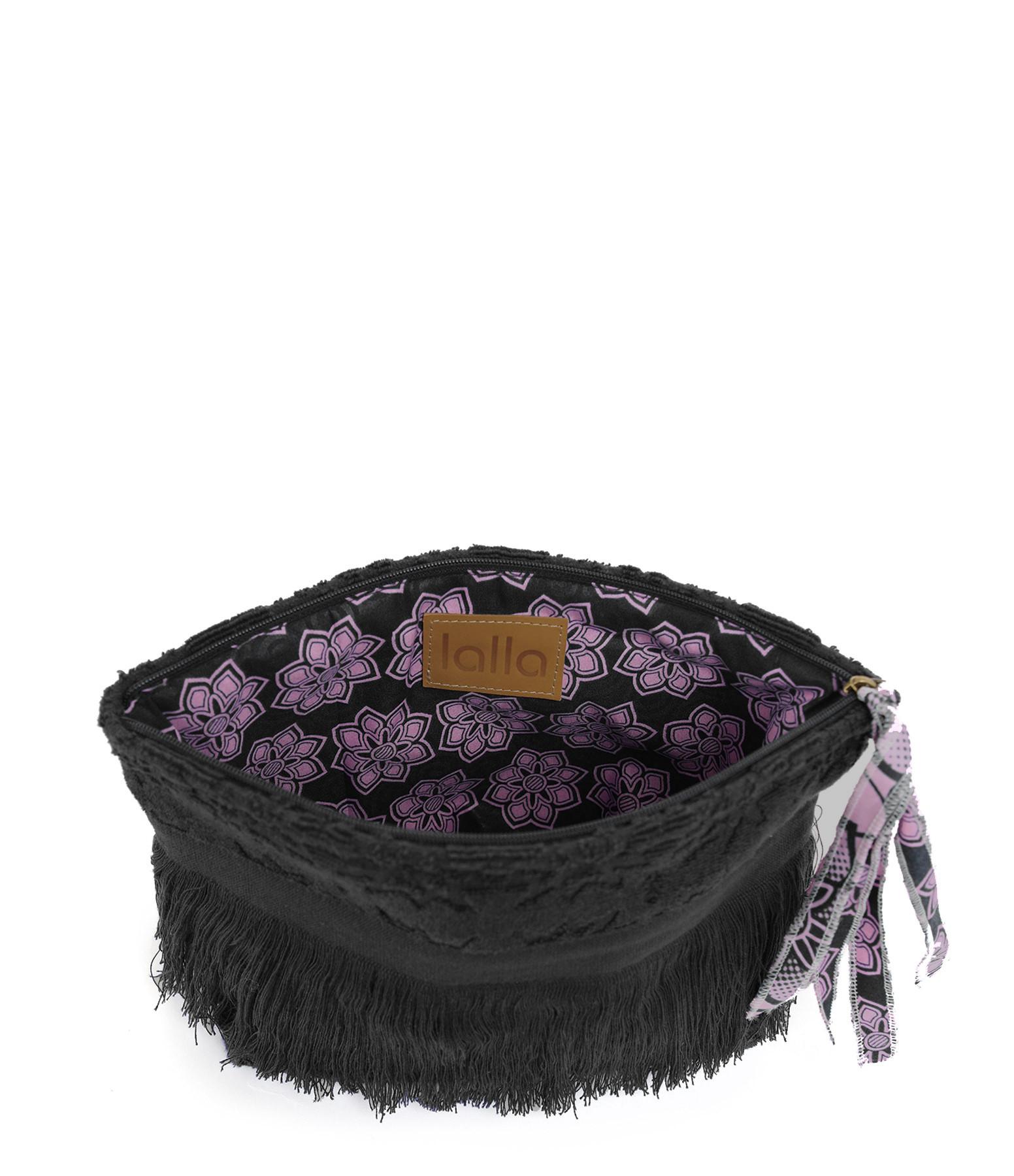 LALLA - Petite Trousse Walakin Hippie Éponge Noir