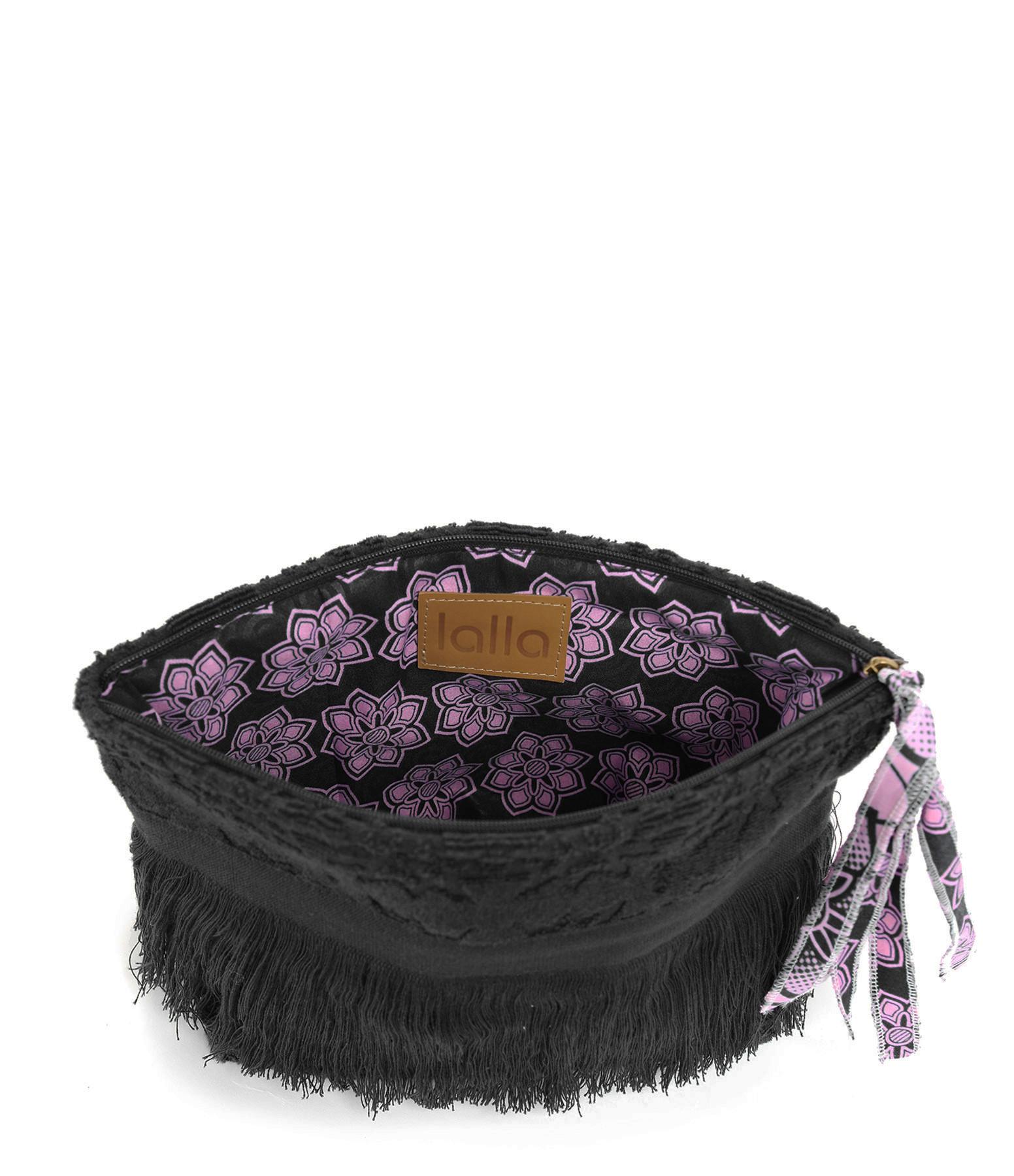 LALLA - Grande Trousse Walakin Hippie Éponge Noir