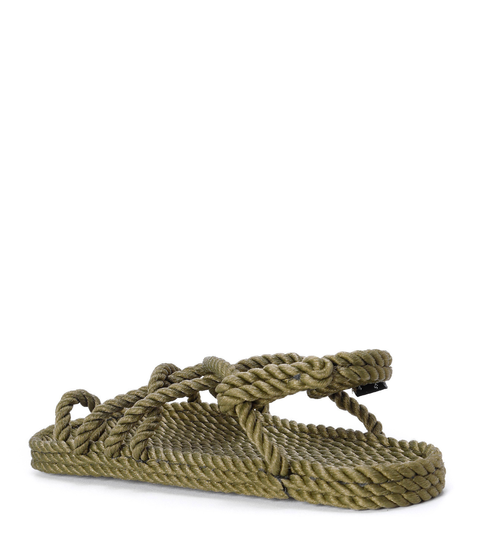 NOMADIC STATE OF MIND - Sandales Vegan Toe Joe Corde Sage Green