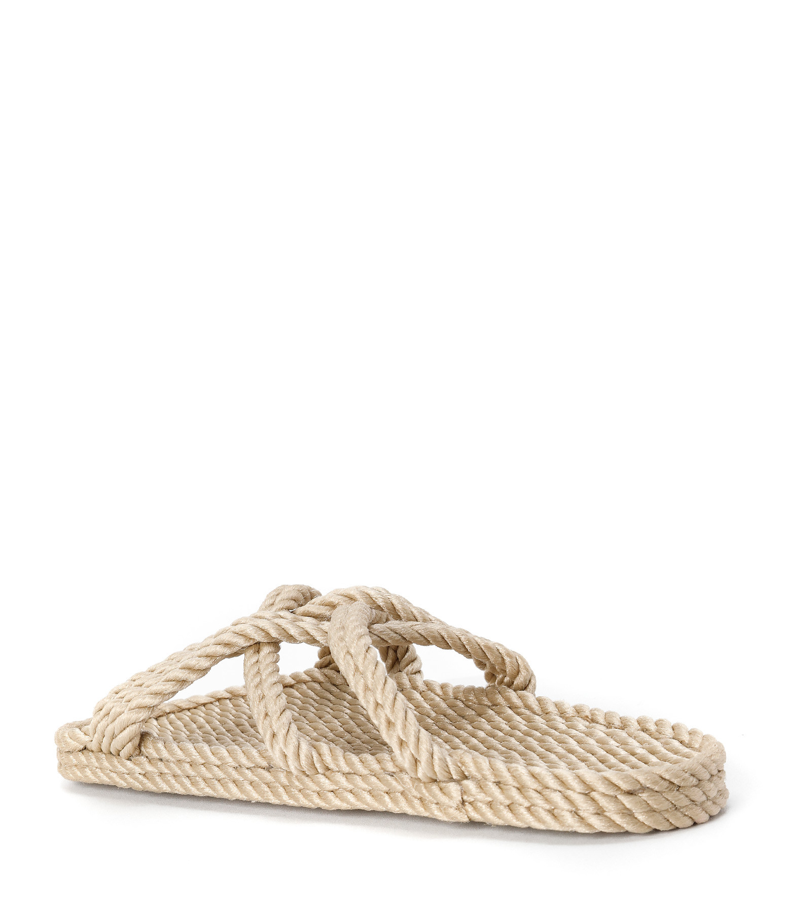 NOMADIC STATE OF MIND - Mules Vegan Slip On Corde Beige