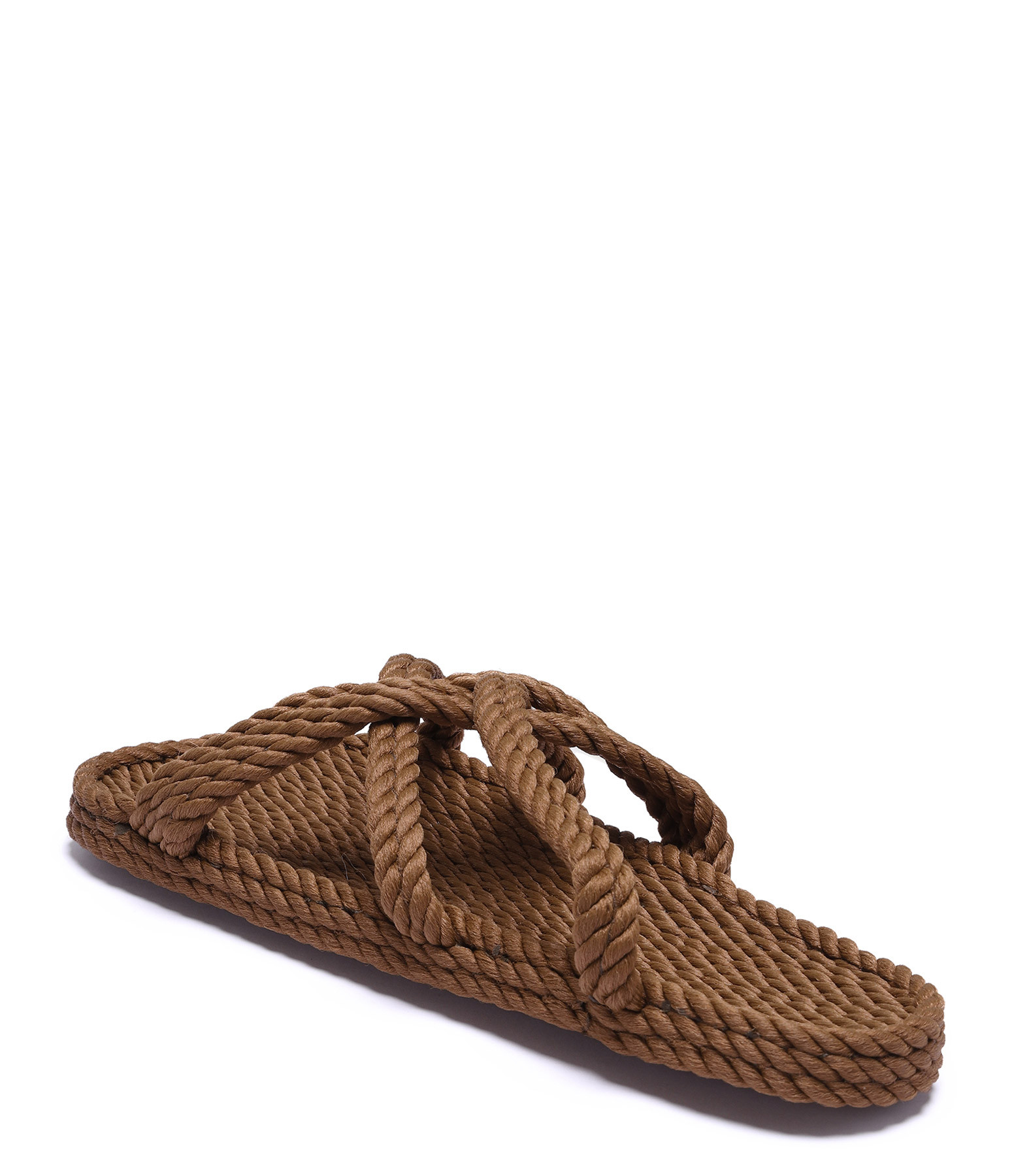 NOMADIC STATE OF MIND - Mules Vegan Slip On Corde Café