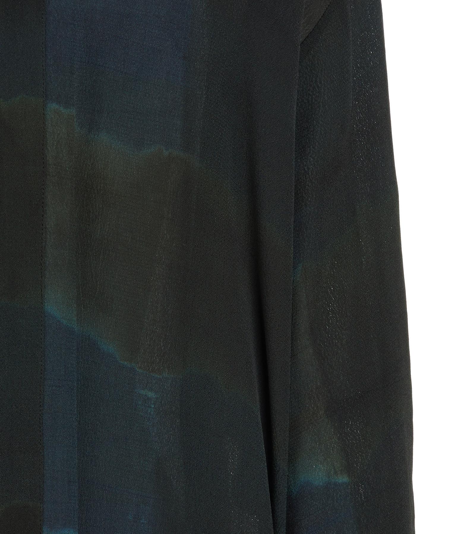NOUS - Kimono Cléo Crèpe Gris Bleu Nuit