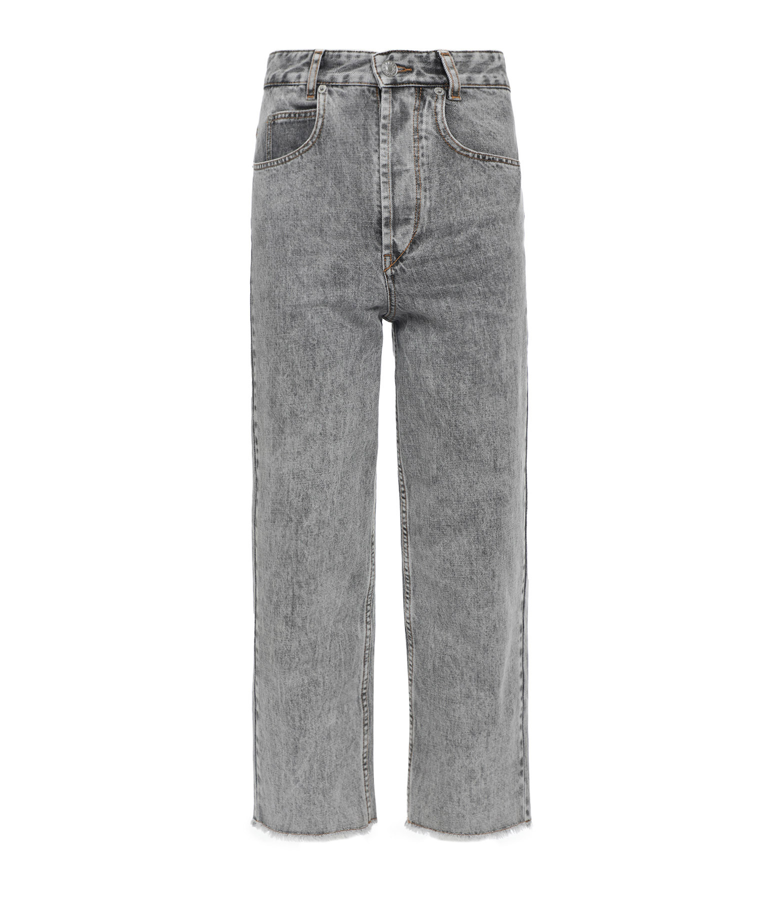 ISABEL MARANT ÉTOILE - Pantalon Laliskasr Coton Gris
