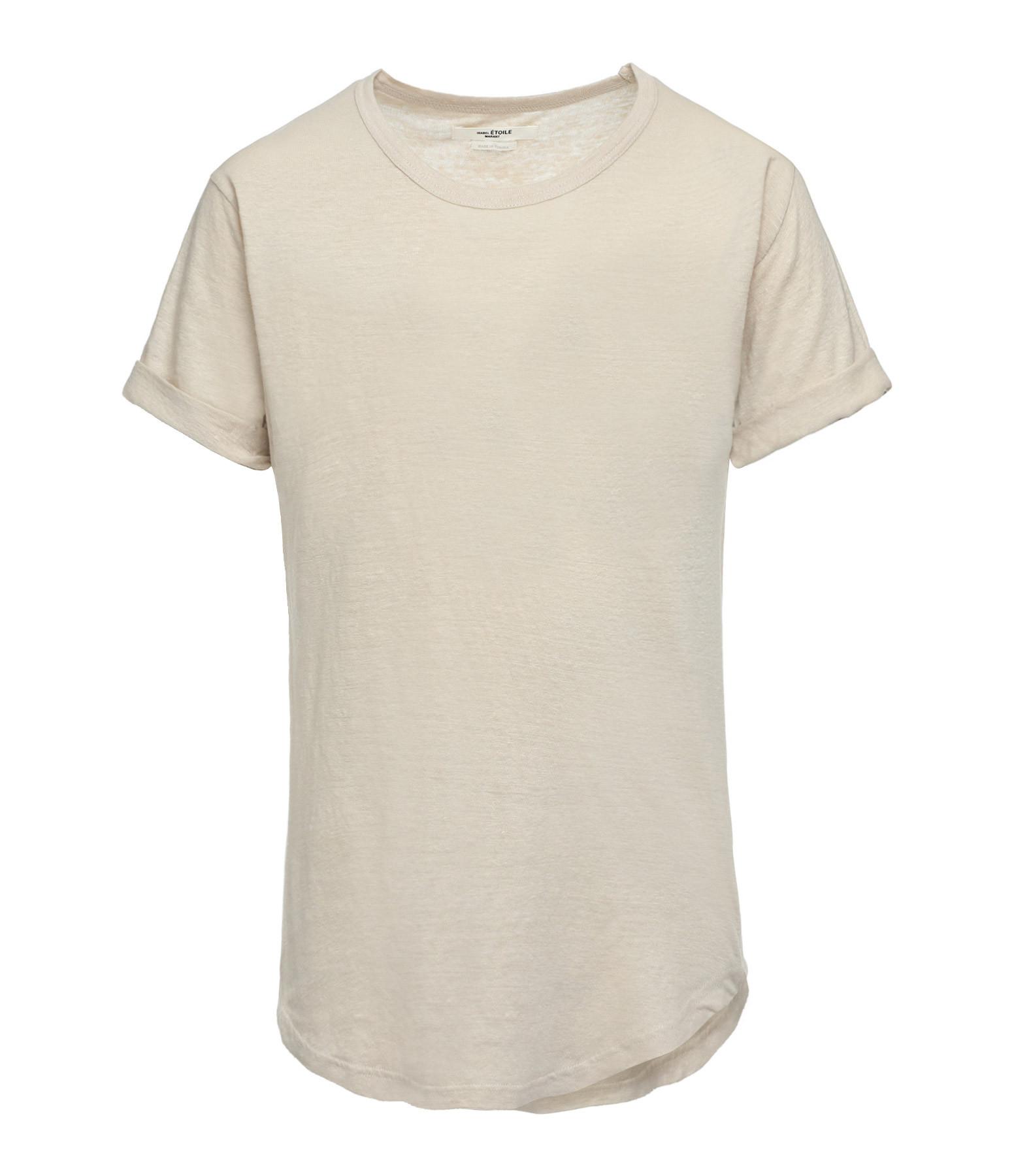 ISABEL MARANT ÉTOILE - Tee-shirt Koldi Lin Écru