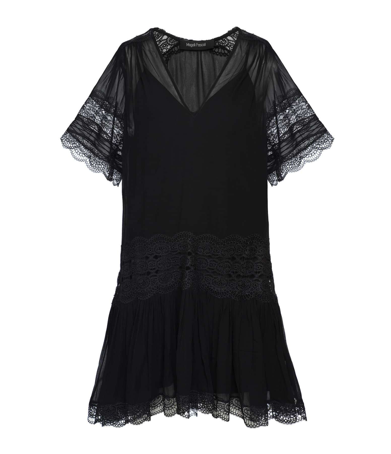 MAGALI PASCAL - Robe Garbo Noir