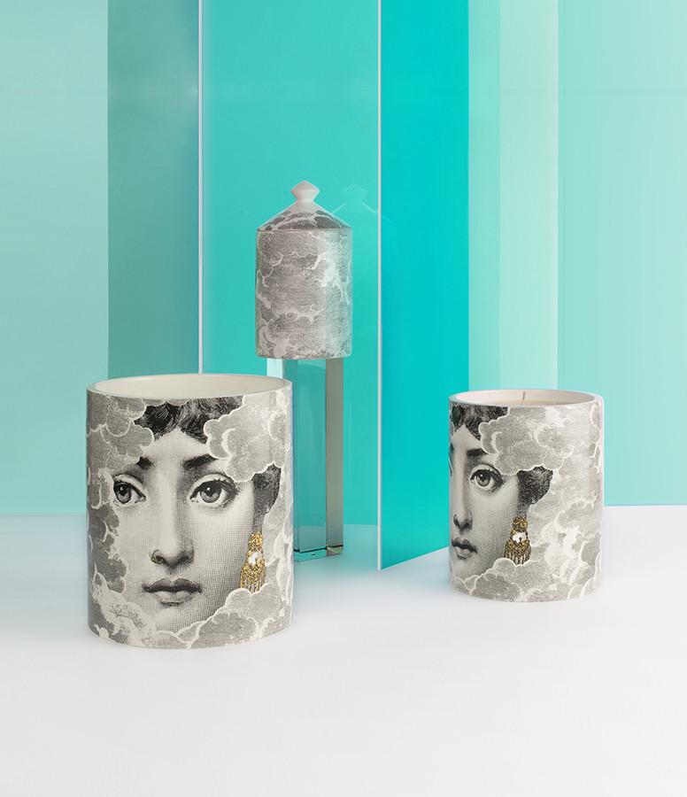 FORNASETTI - Bougie Parfumée 900g Nuvola Doré
