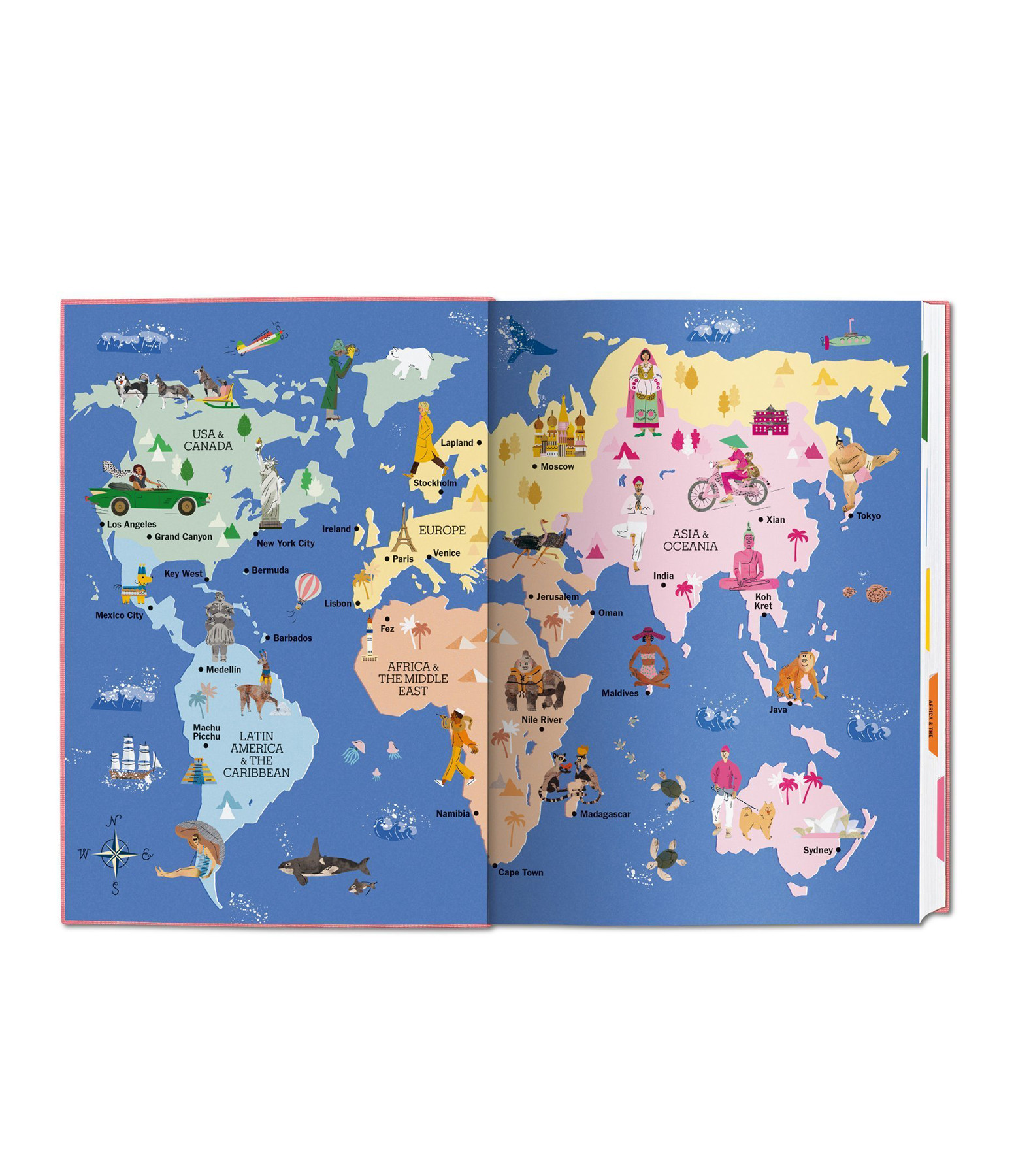 TASCHEN - Livre NYT Explorer, 100 Voyages Autour du Monde
