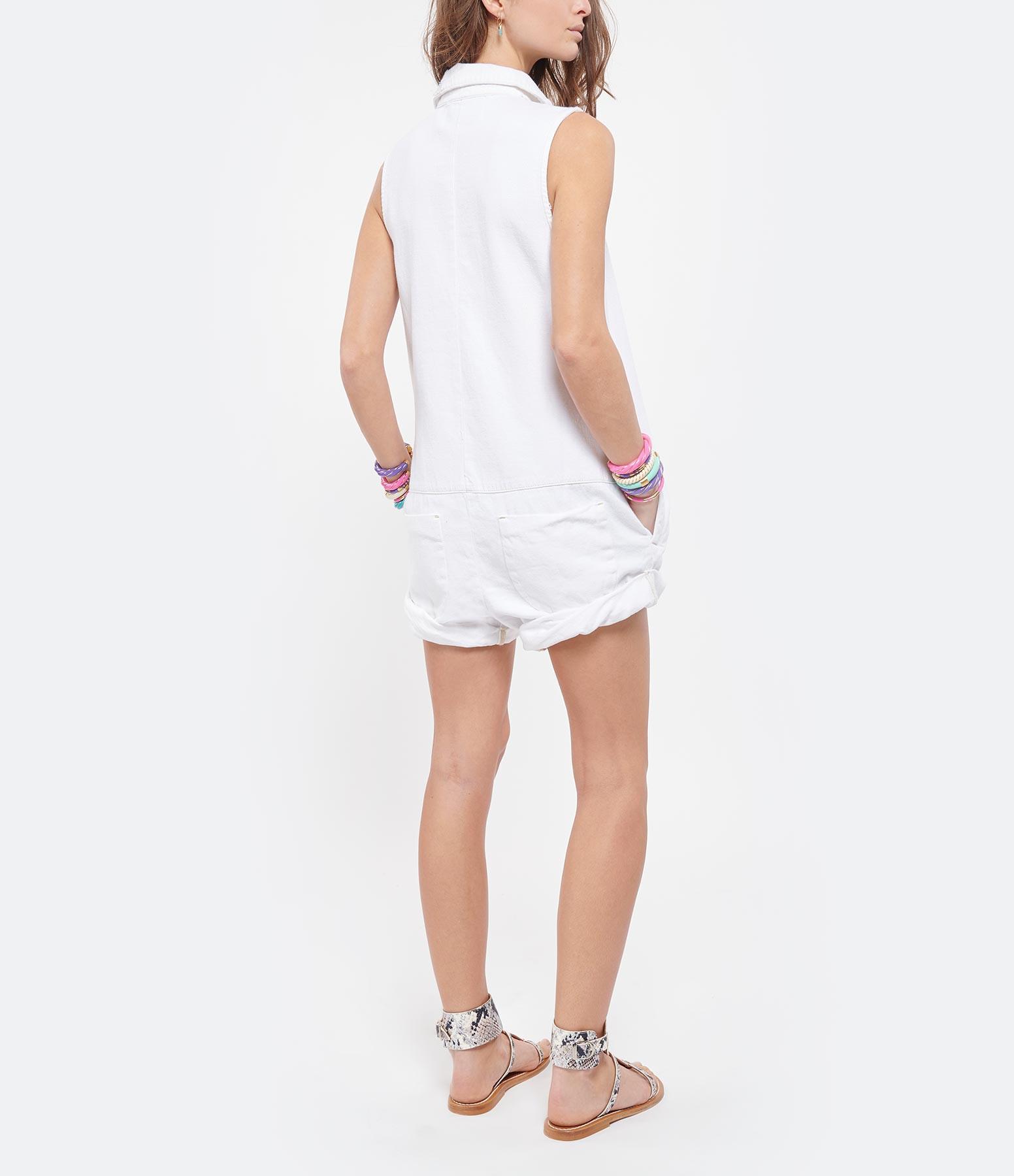 ONE TEASPOON - Combinaison Mini Braxton Blanc