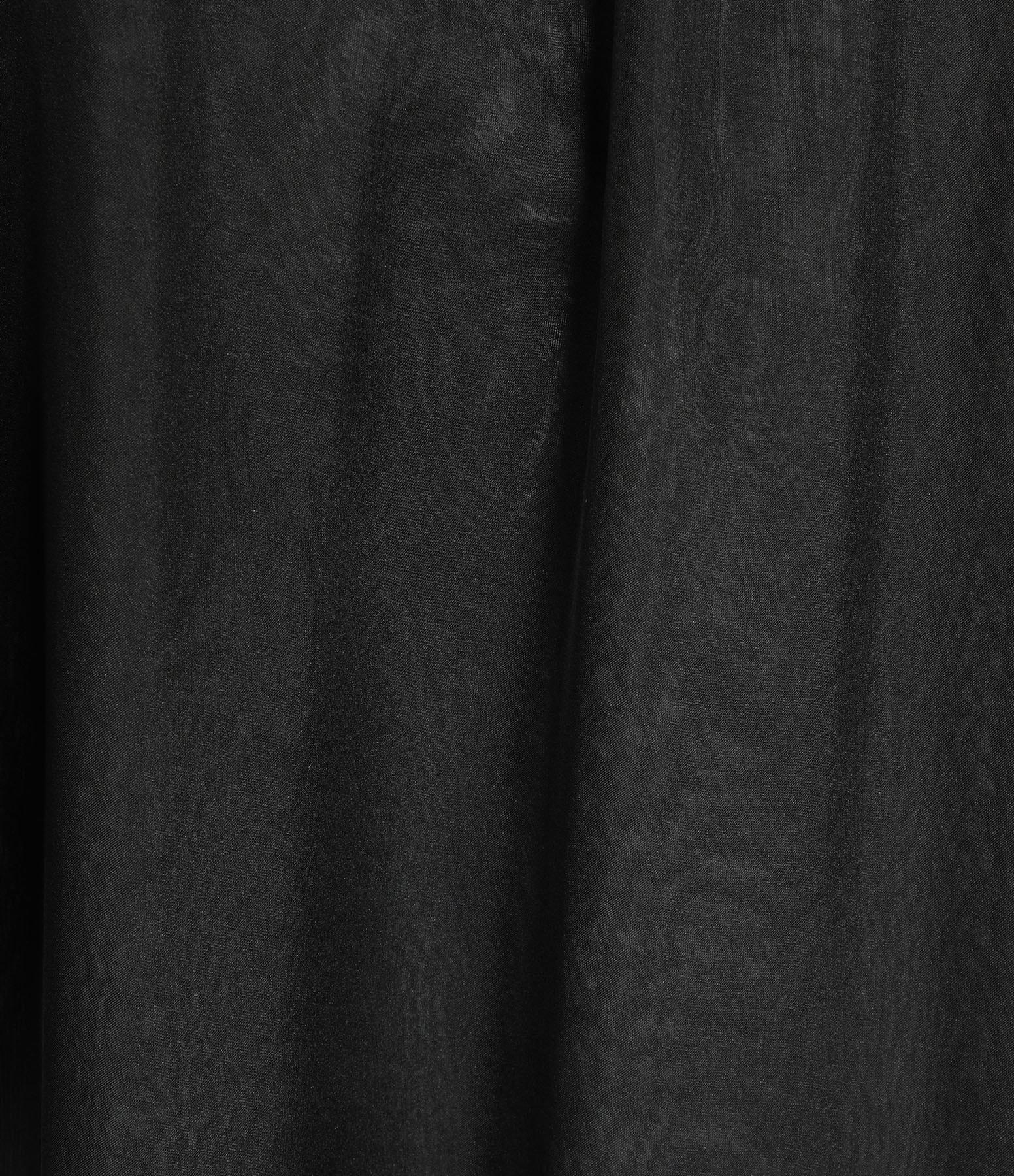 OUD - Robe Aurora Mousseline Soie Noir
