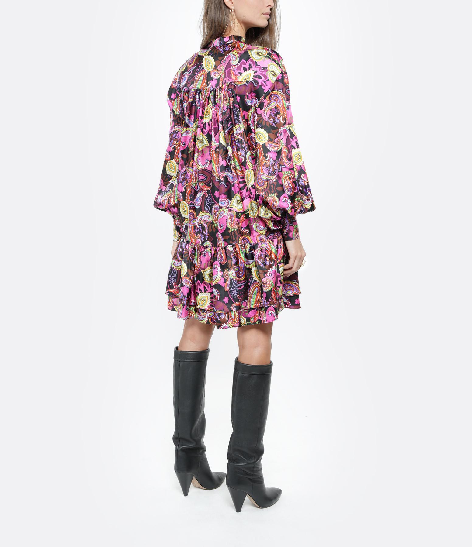 OUD - Robe Emma Soie Multicolore
