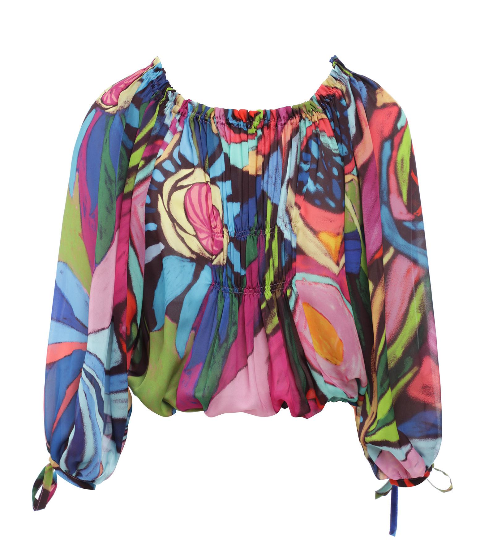 OUD - Top Lily Soie Multicolore