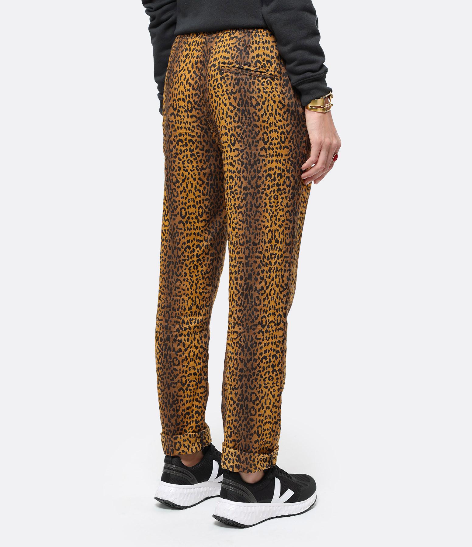 OVERLOVER - Pantalon Yucca Lin Miel