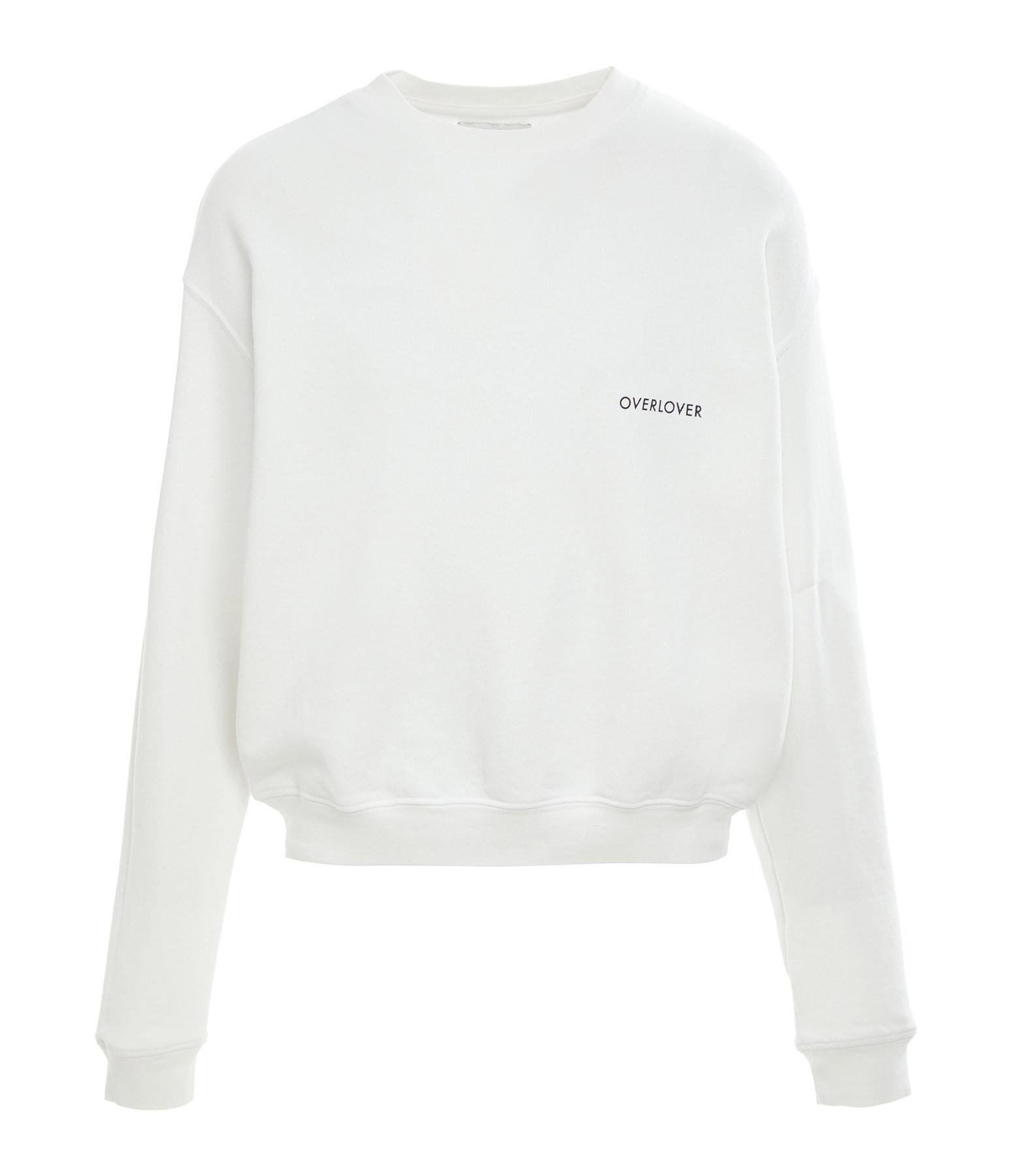 OVERLOVER - Sweatshirt Cienega Blanc