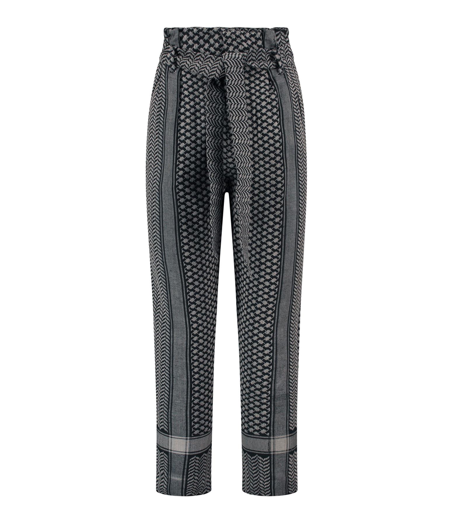 ROUGH STUDIOS - Pantalon Storm Coton Gris Noir