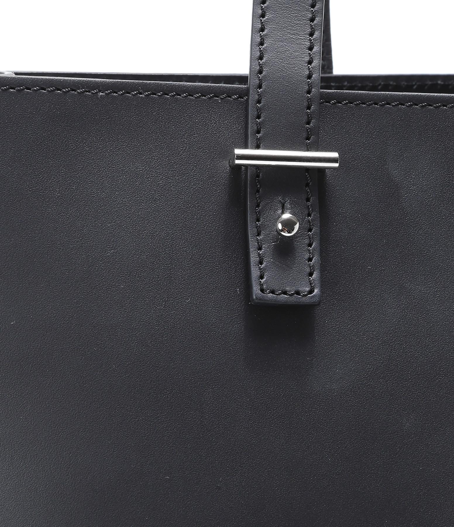 PB 0110 - Tote Bag Cuir Noir