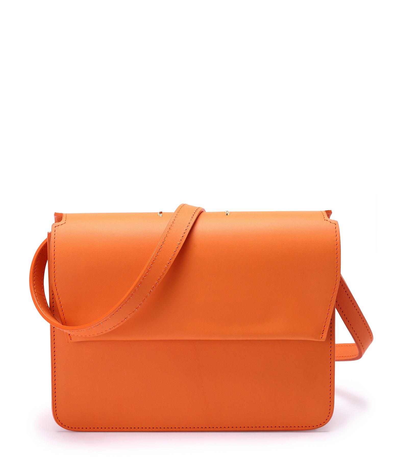 PB 0110 - Sac Cuir Orange