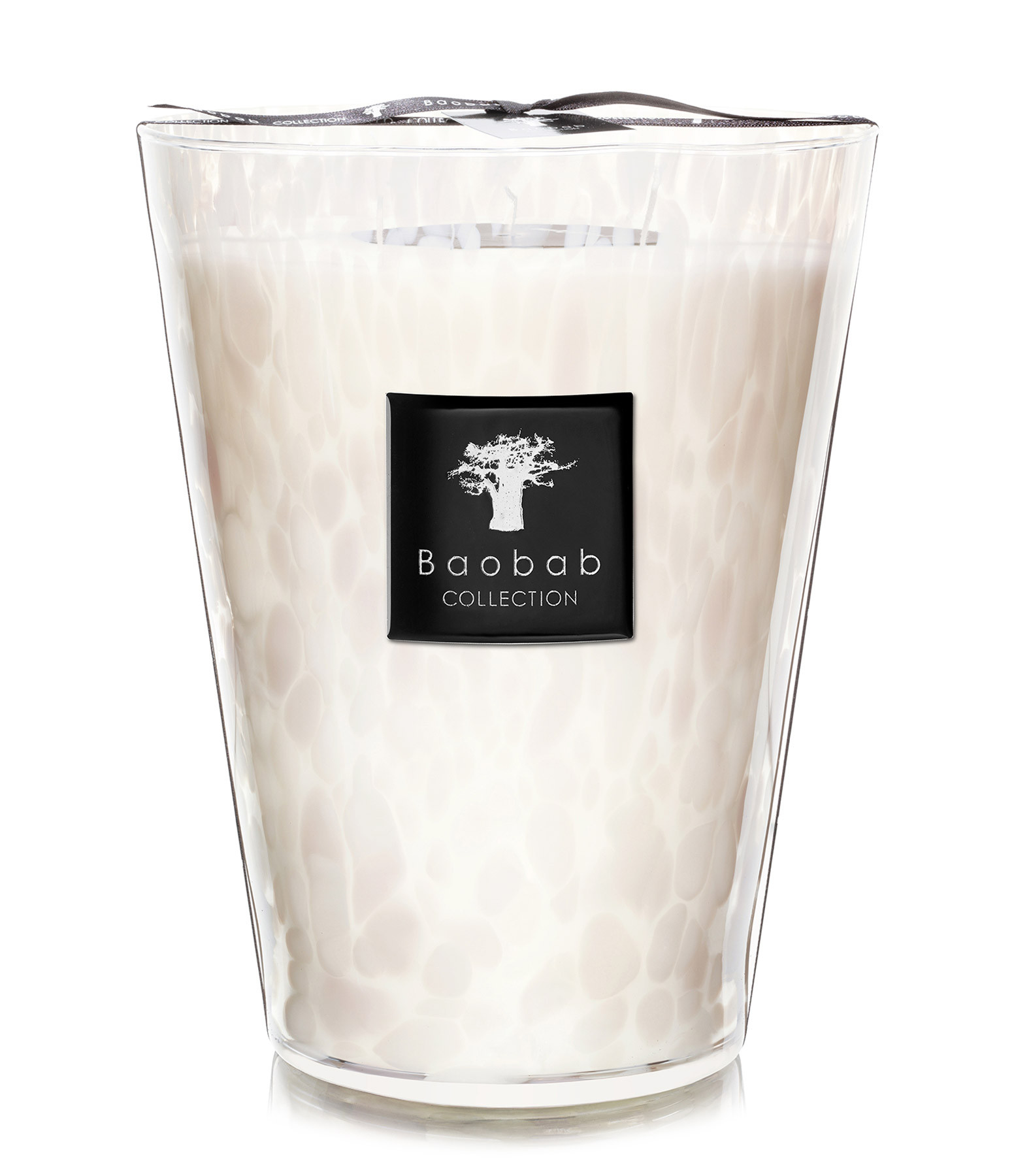 Bougie Pearls Max 24 White Pearls - BAOBAB