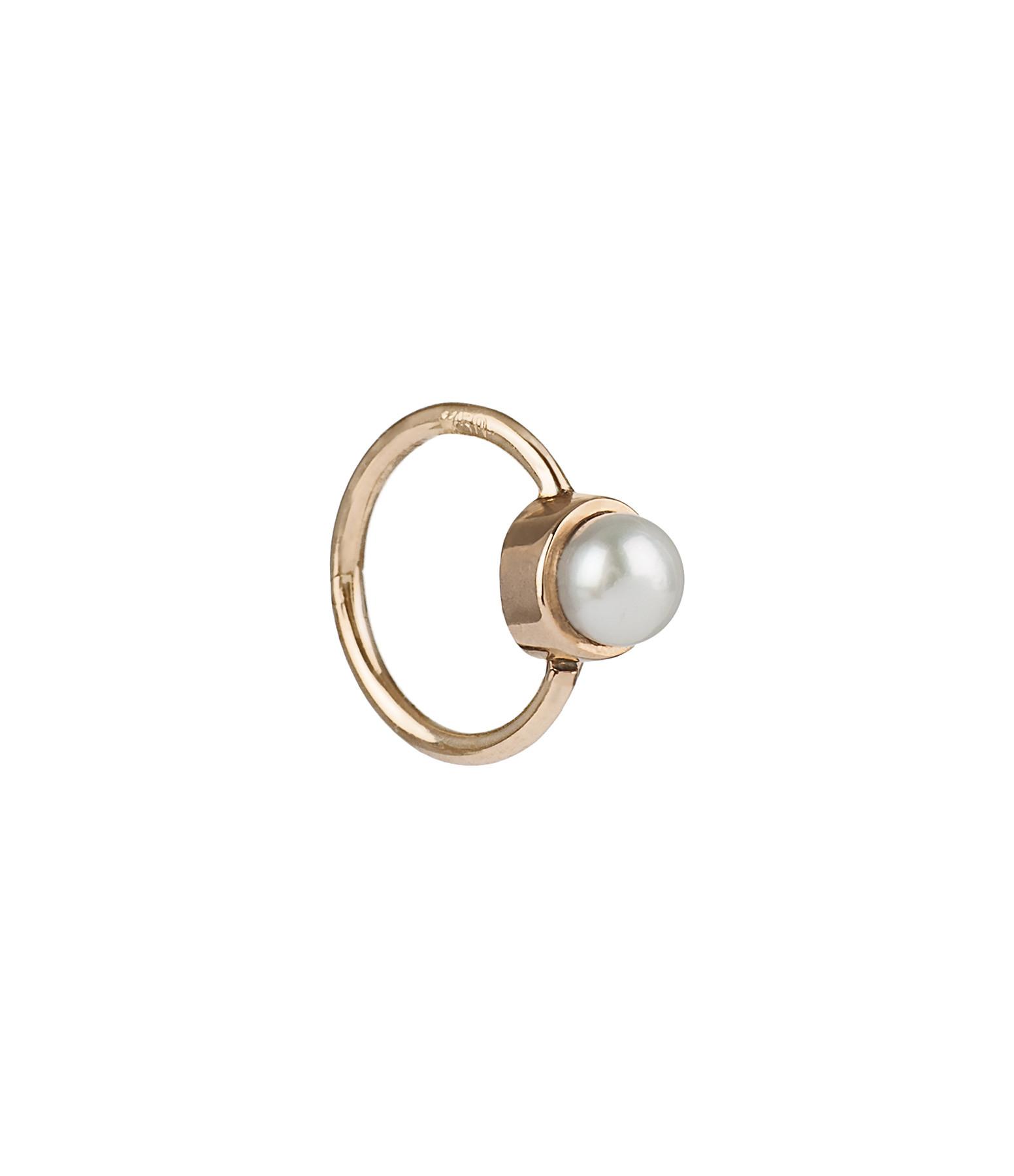 YANNIS SERGAKIS - Petite Créole Or Perles (vendue à l'unité)