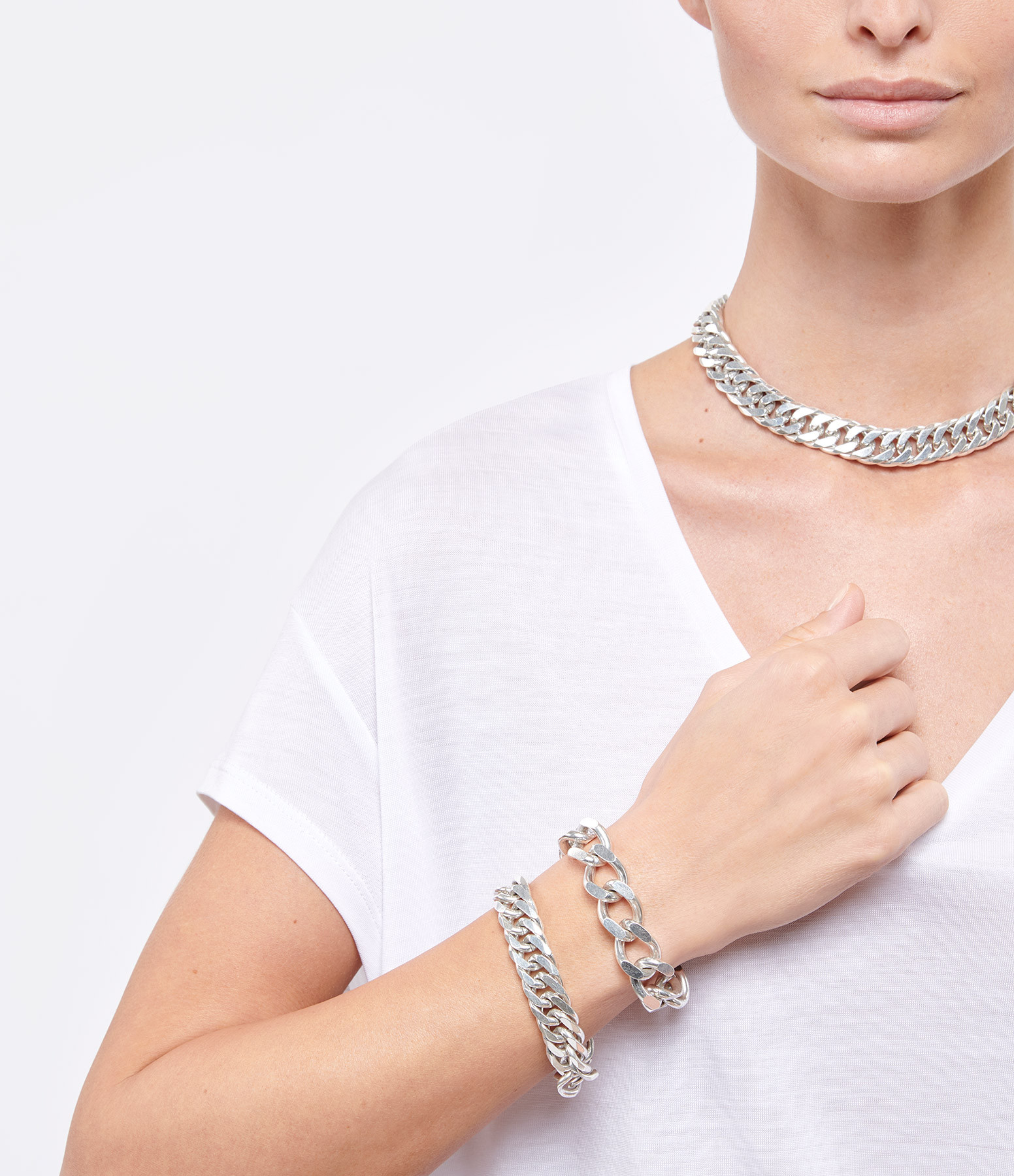 PERRINE TAVERNITI - Bracelet Amelot Argent