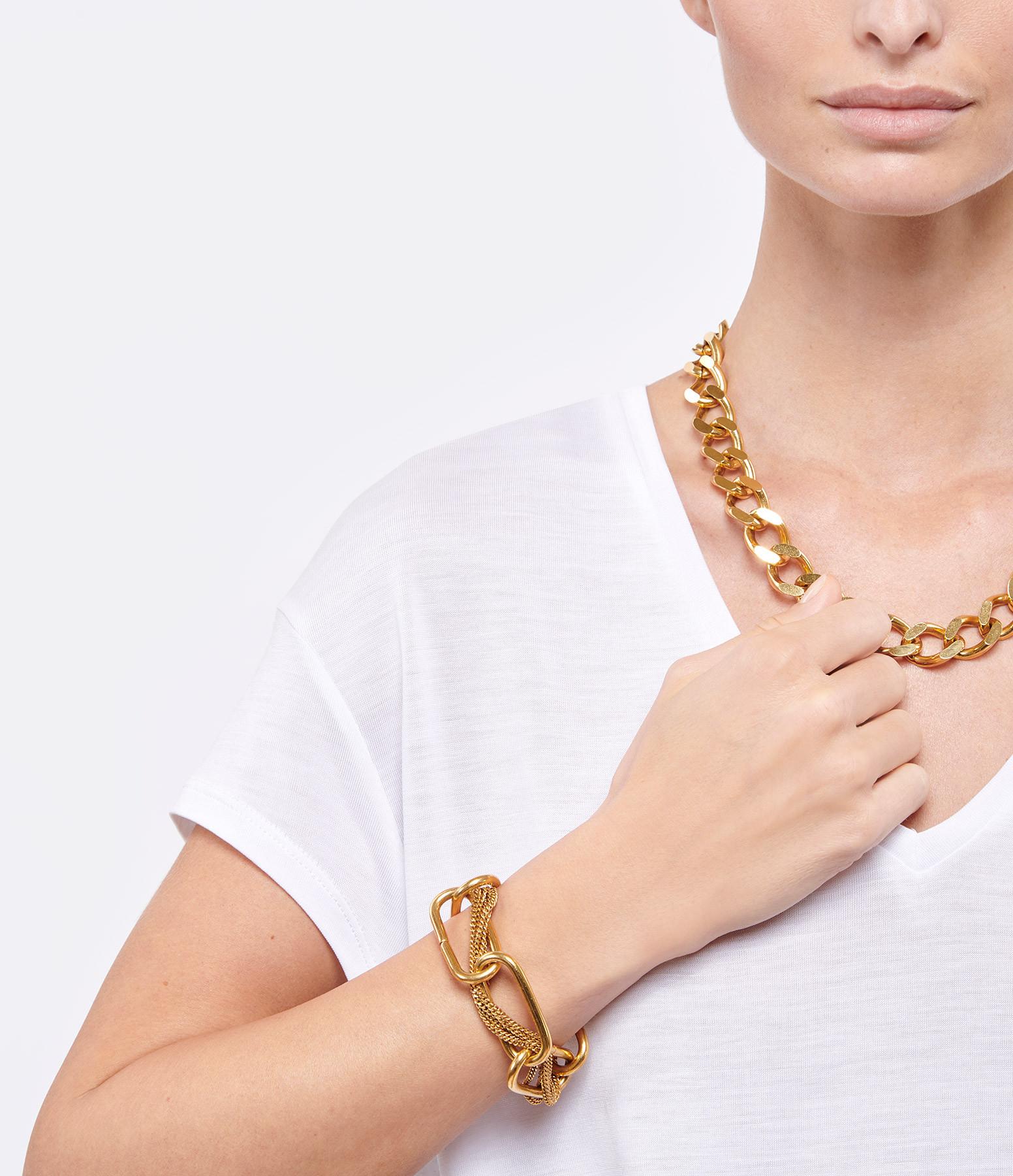 PERRINE TAVERNITI - Bracelet Ramey Plaqué Or