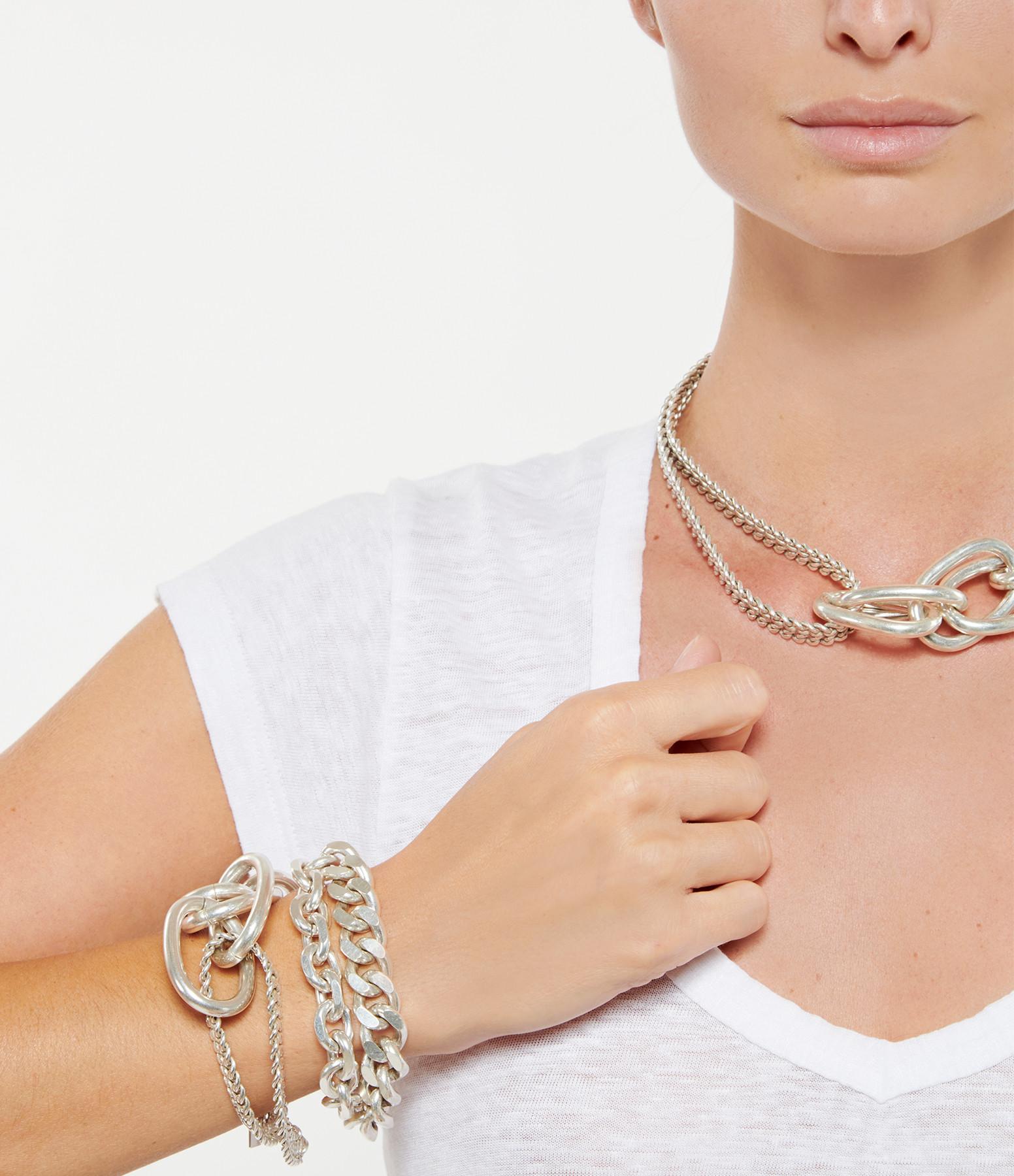 PERRINE TAVERNITI - Bracelet Courcelle Argent