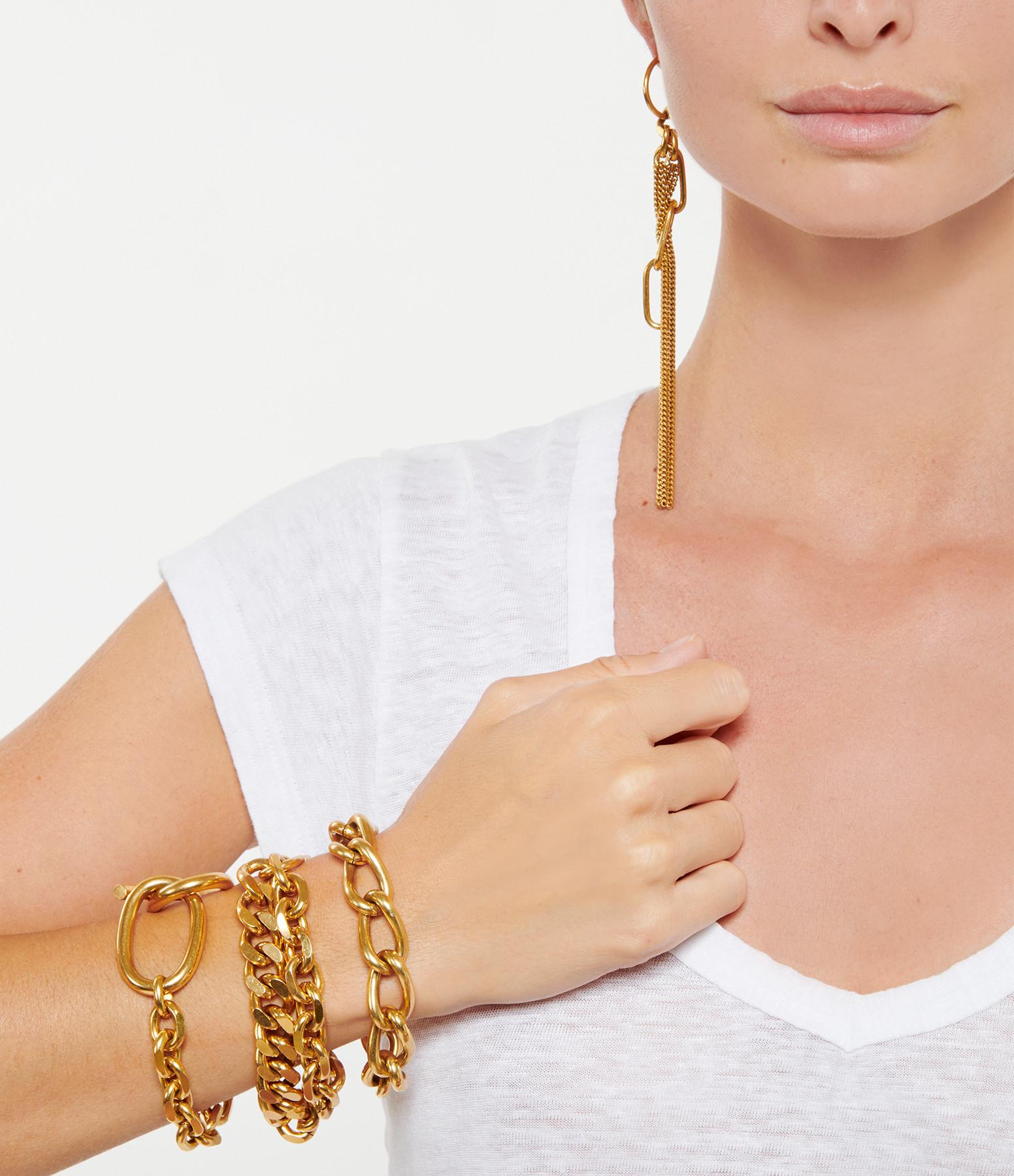 PERRINE TAVERNITI - Bracelet Victoire Plaqué Or