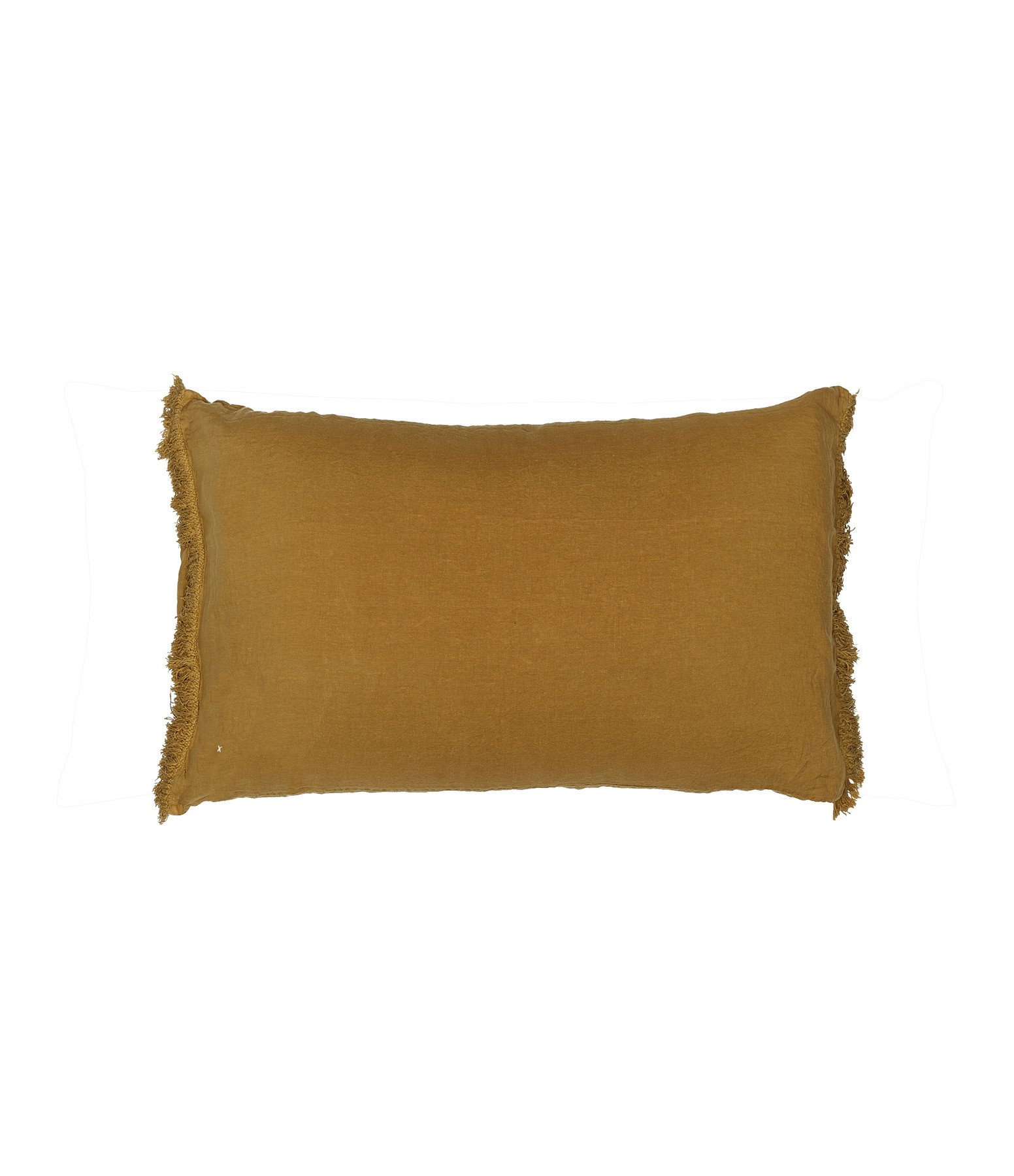 BED AND PHILOSOPHY - Coussin Rectangle Queens Lin Butternut
