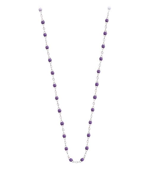 GIGI CLOZEAU - Collier Perles Résine 60cm