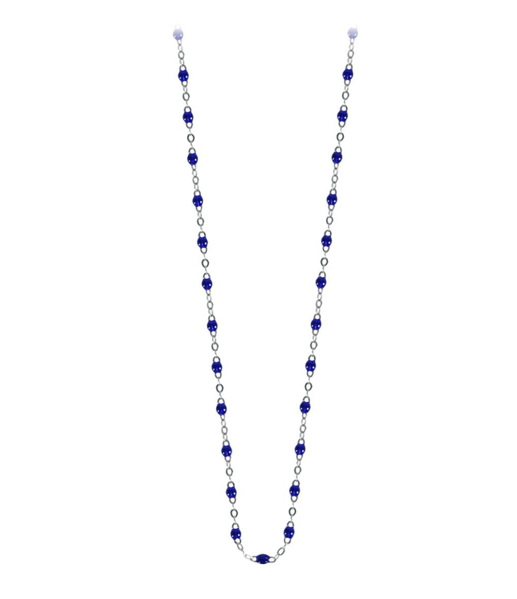 90804d8c6356c Collier Perles Résine Or 42cm - Gigi Clozeau