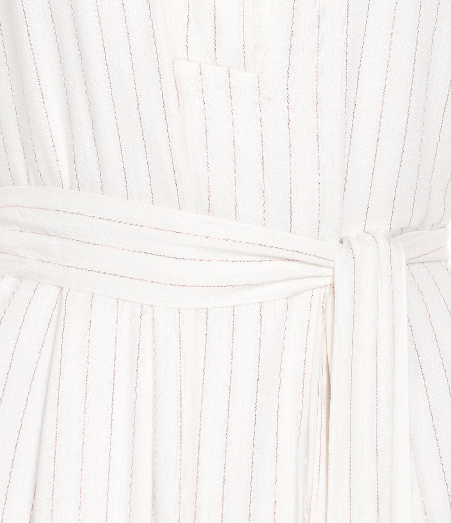 RABENS SALONER - Robe Eris Cuivre Blanche