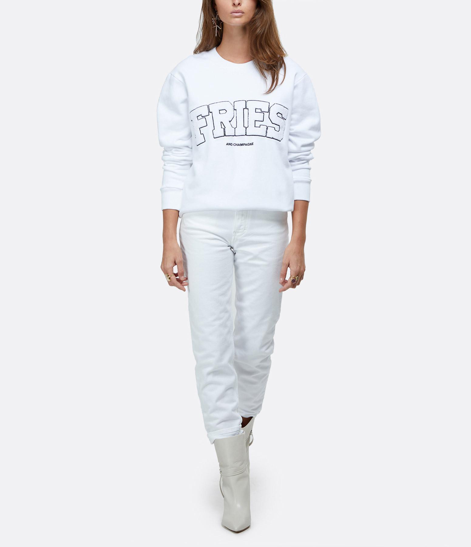 RAIINE - Sweatshirt Portia Blanc