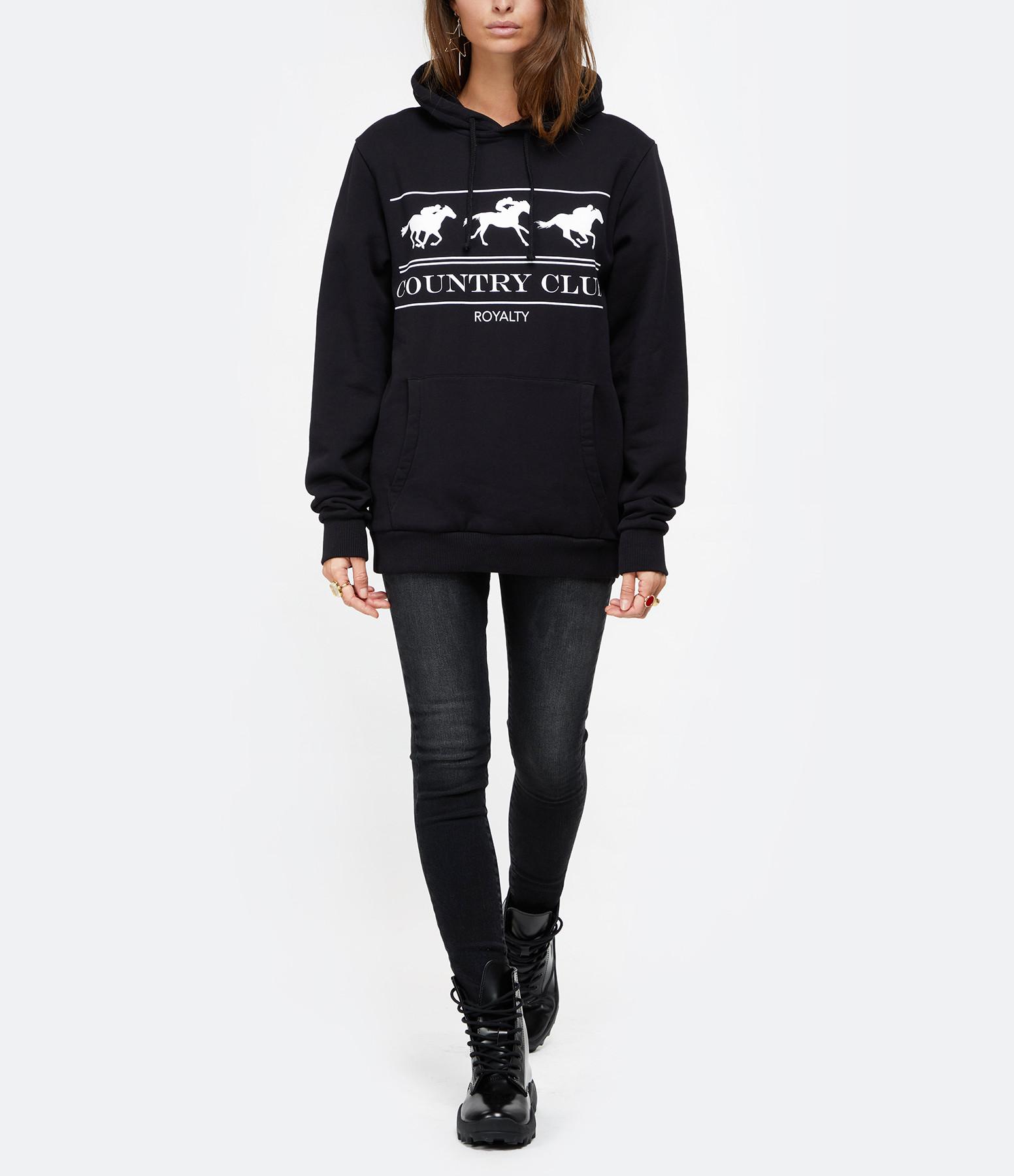 RAIINE - Sweatshirt Conroe Noir