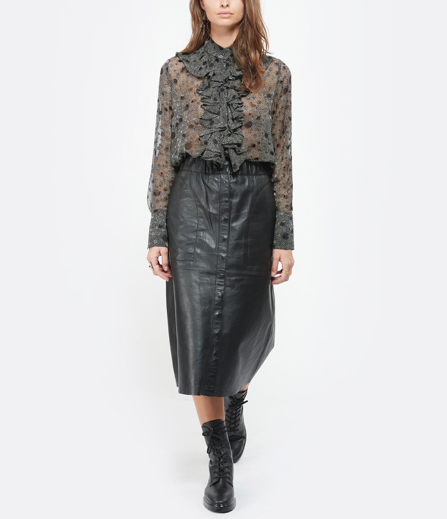 RAIINE - Jupe Acker Noir