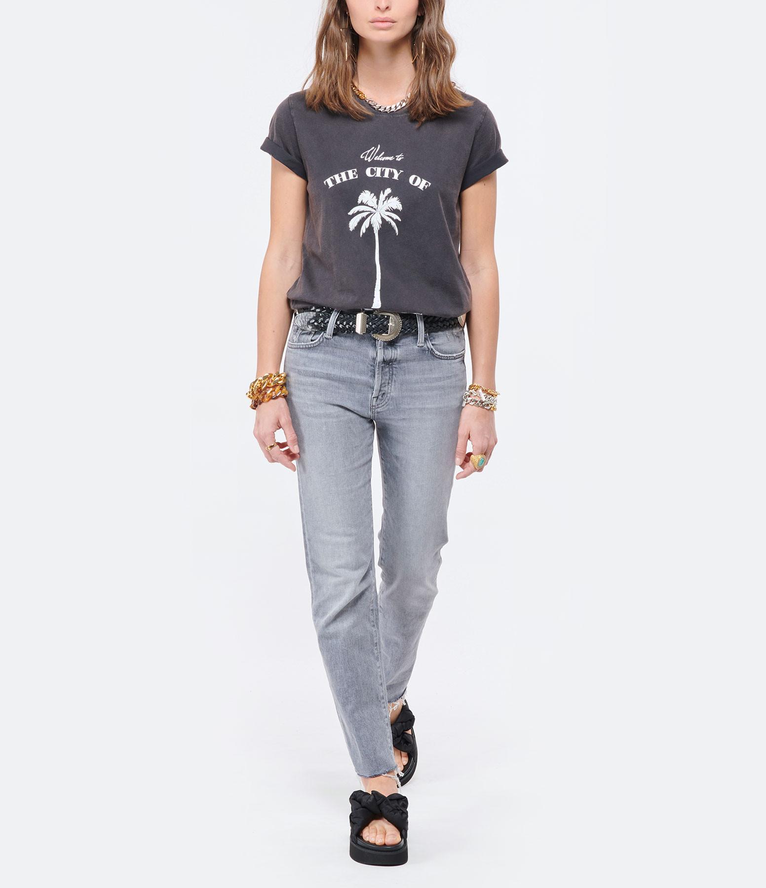 RAIINE - Tee-shirt Somo Coton Biologique Gris