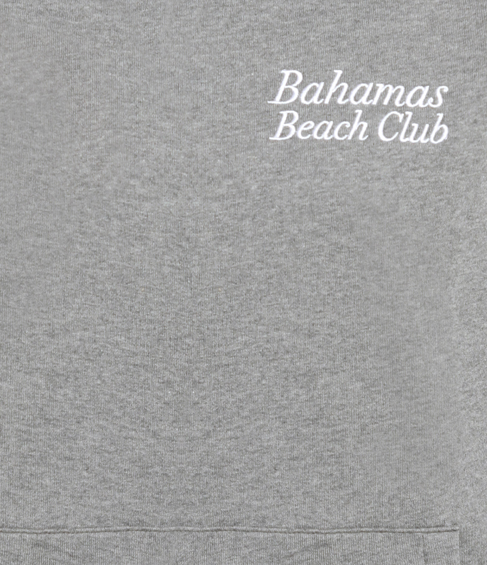 RAIINE - Sweatshirt White Coton Gris Chiné
