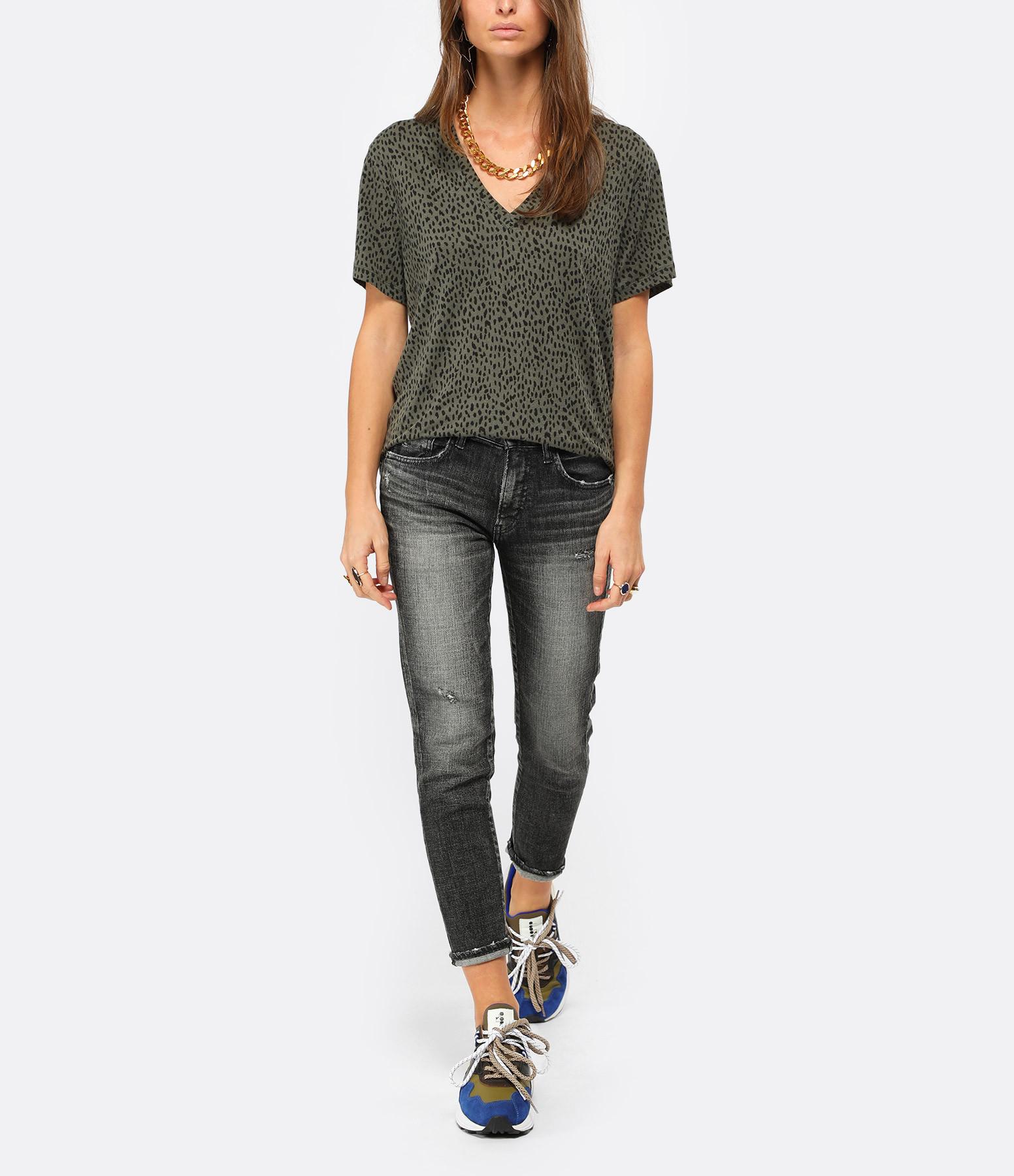 RAILS - Tee-shirt Cara Vert Olive