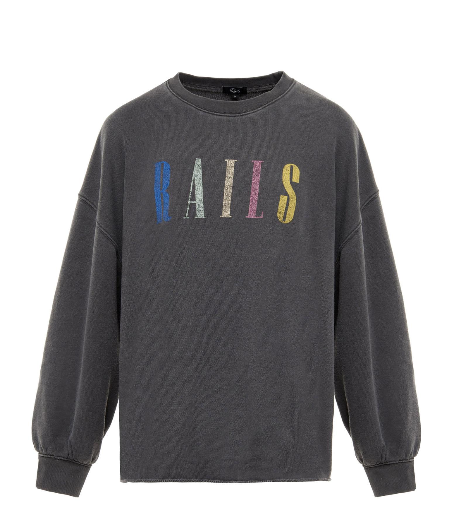 RAILS - Sweatshirt Reeves Noir