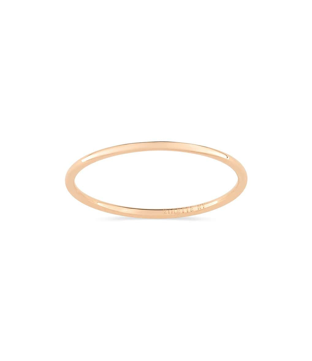 Bague Circle Single - GINETTE_NY