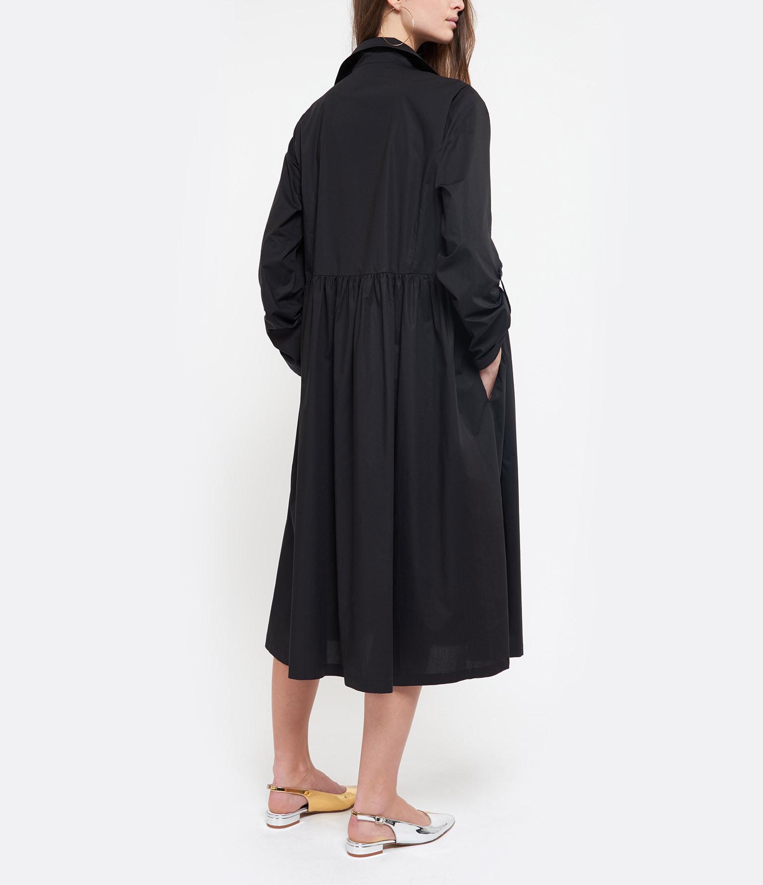 ROBERTO COLLINA - Robe Rayures Noir