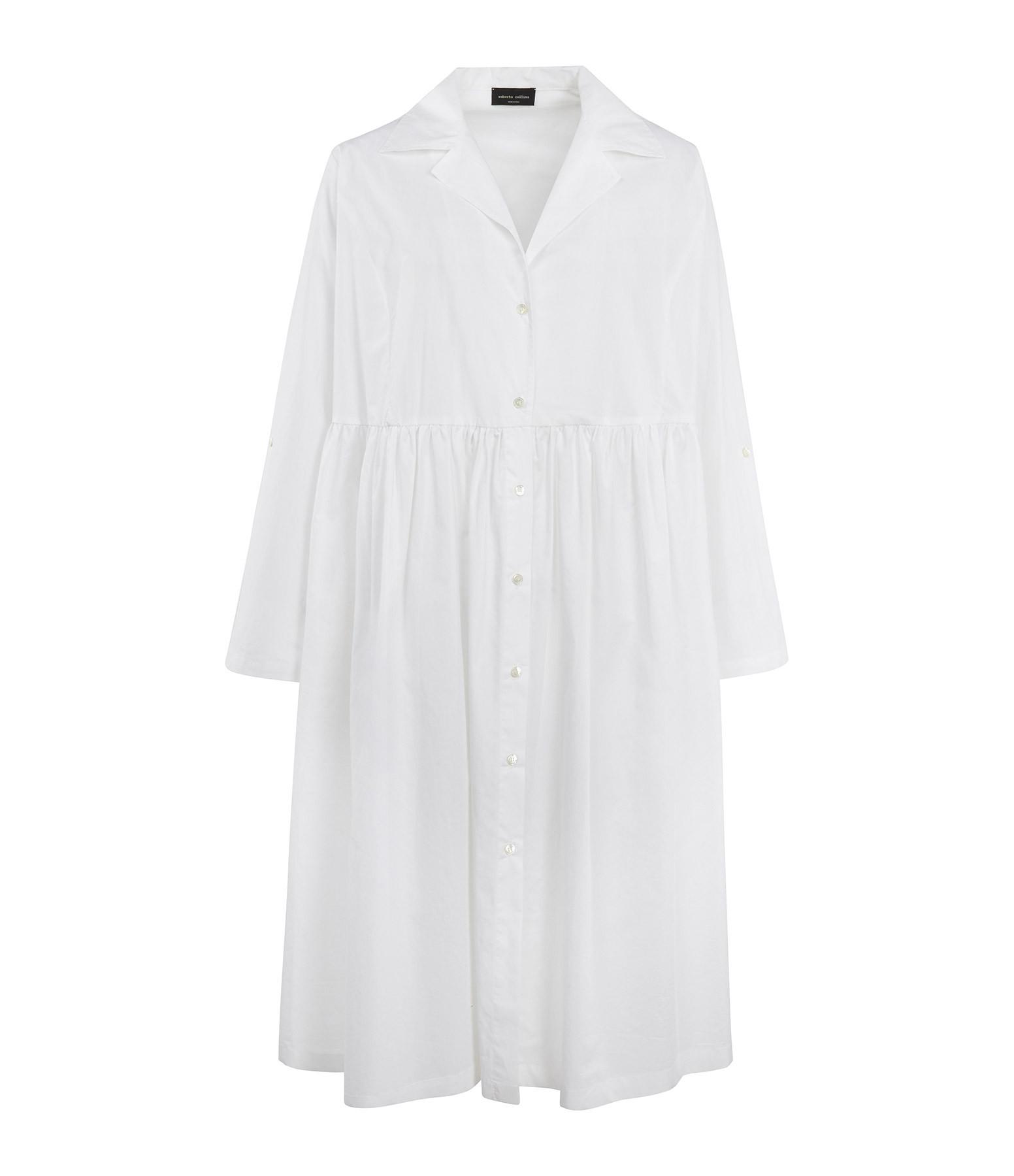 ROBERTO COLLINA - Robe Longue Blanc