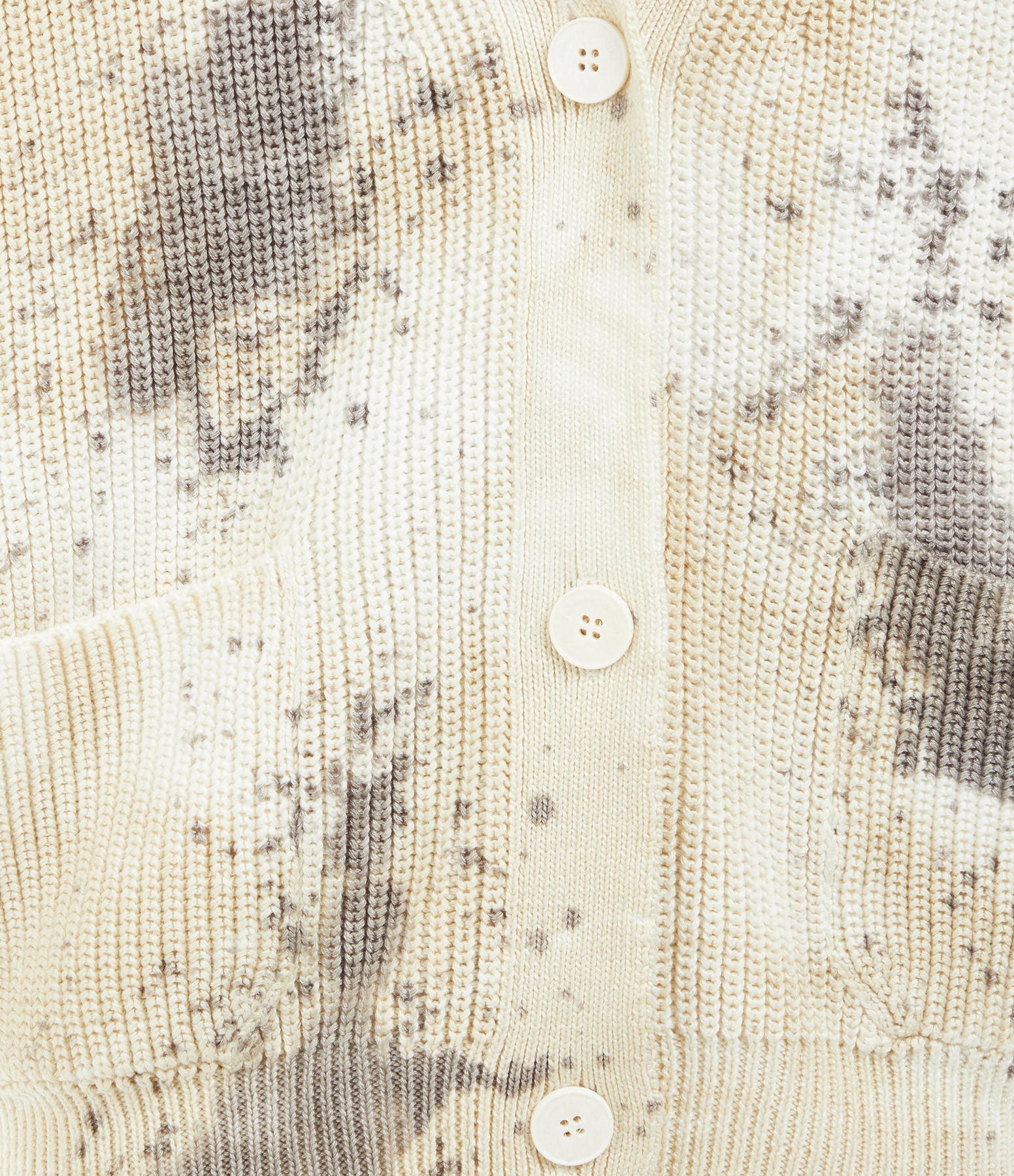 ROBERTO COLLINA - Cardigan Coton Sable