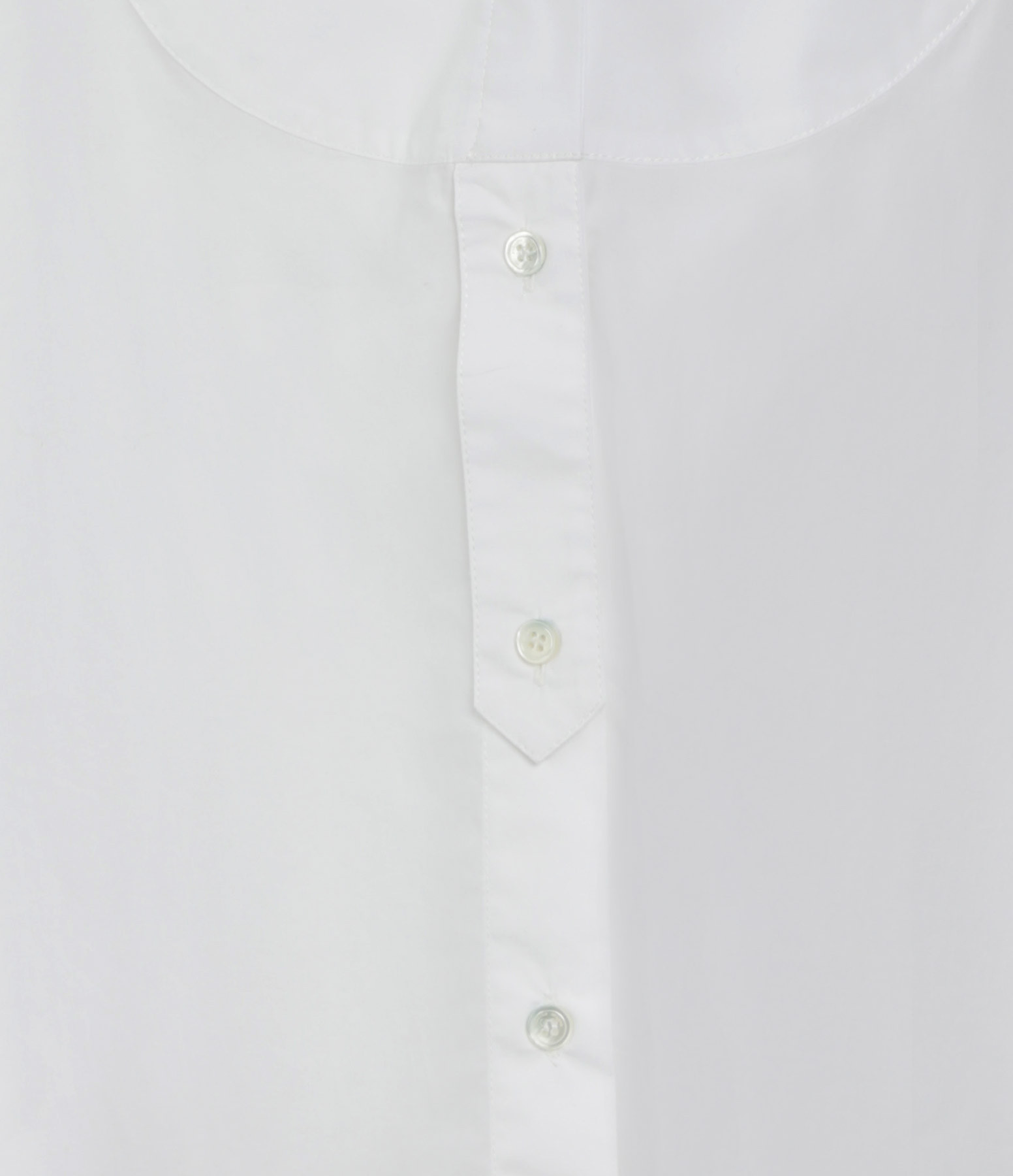 ROBERTO COLLINA - Chemise Coton Blanc