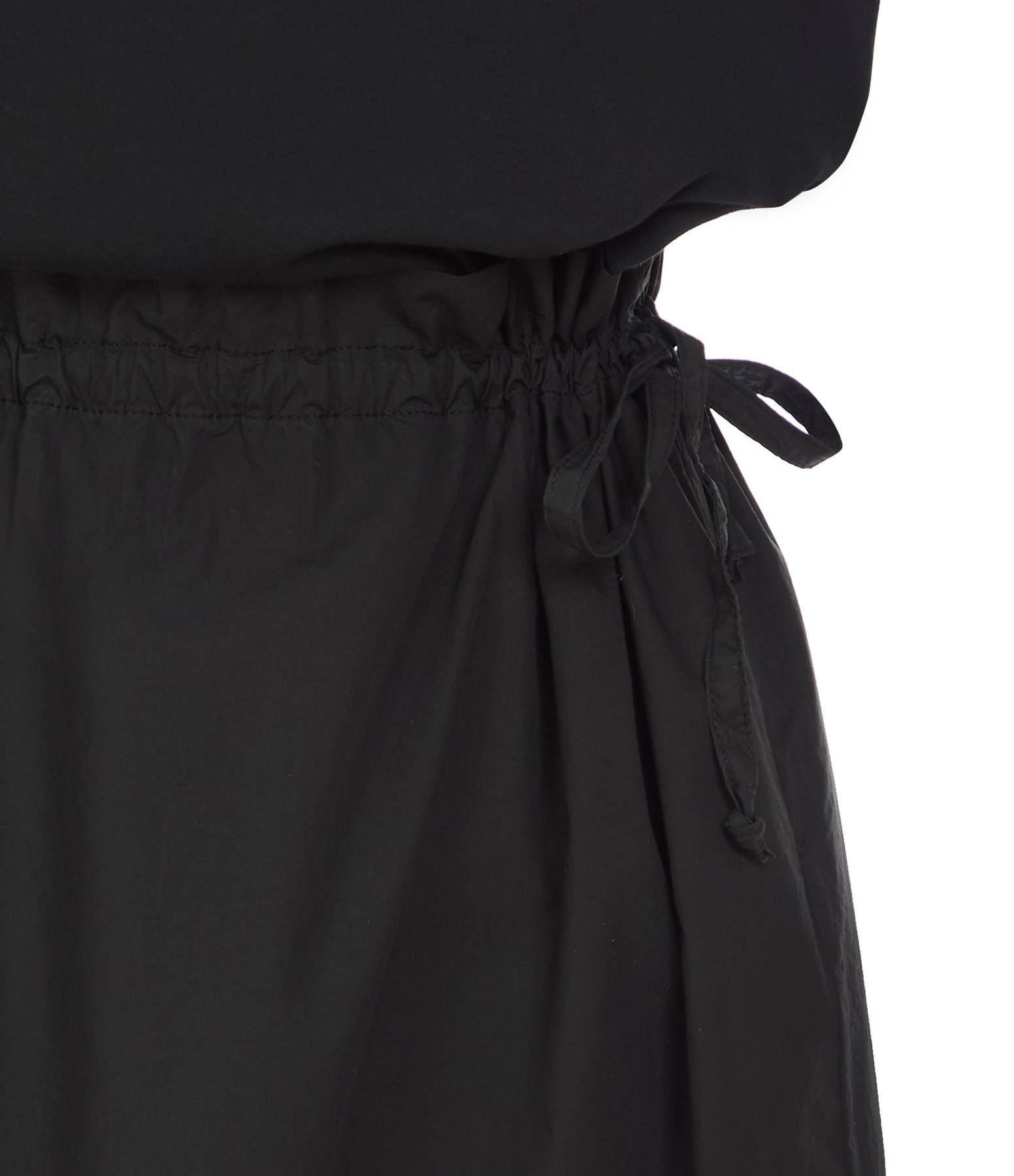 ROBERTO COLLINA - Robe Coton Noir