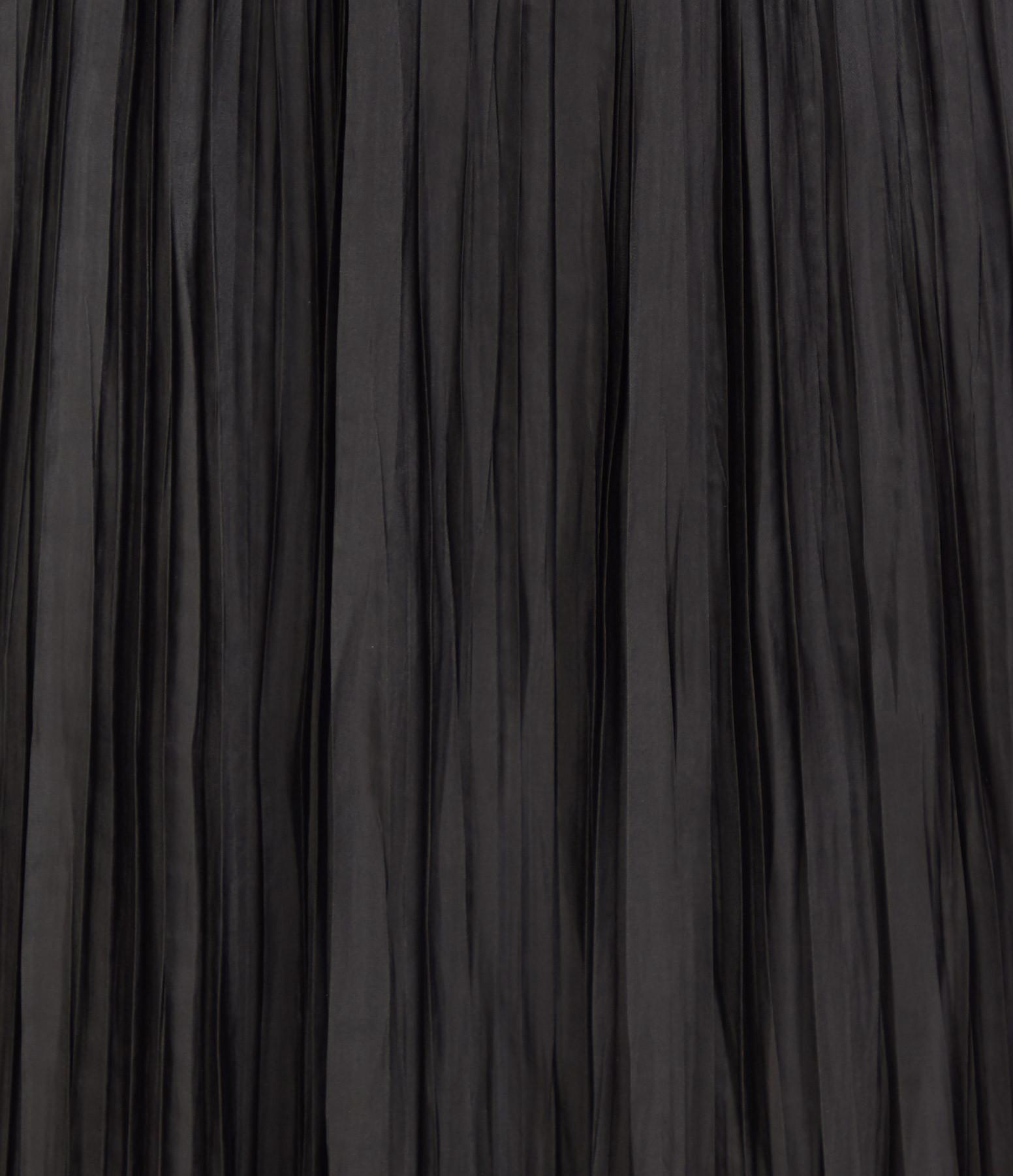 ROBERTO COLLINA - Jupe Plissée Noir