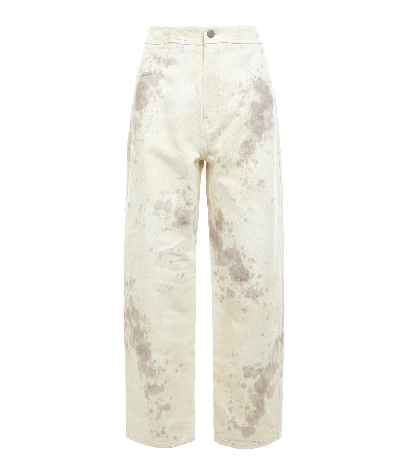 ROBERTO COLLINA - Pantalon Coton Sable