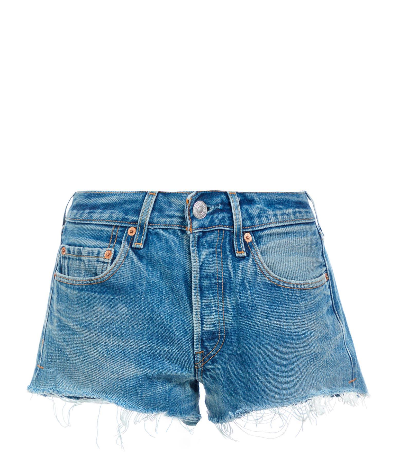 RE/DONE - Short The Short Coton Indigo