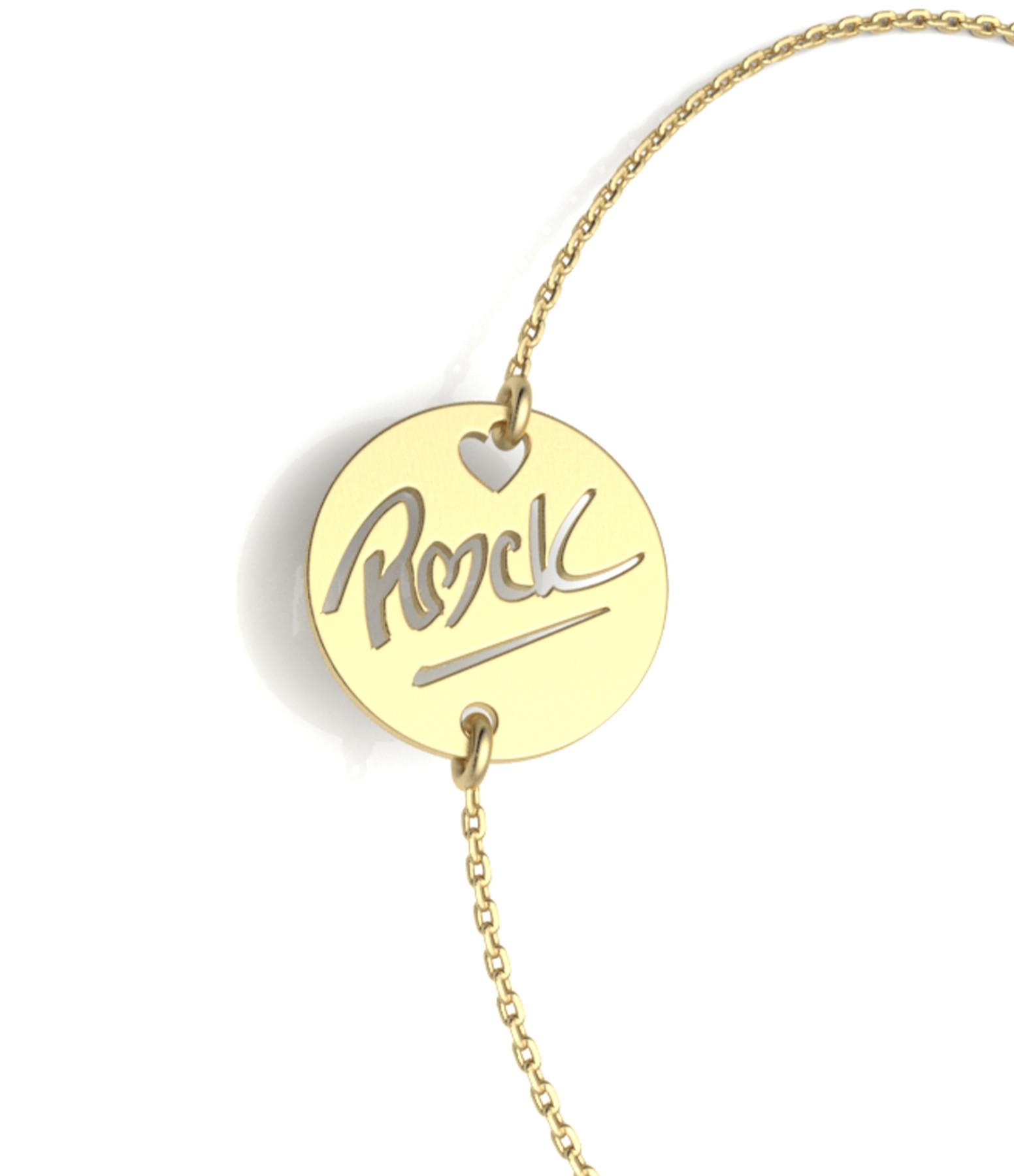 NAVA JOAILLERIE - Bracelet Rock S Or Jaune
