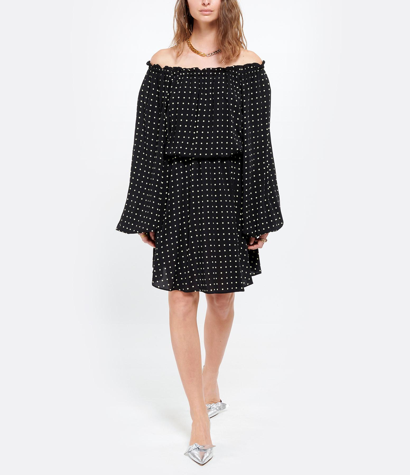 ROTATE - Robe Carly Noir