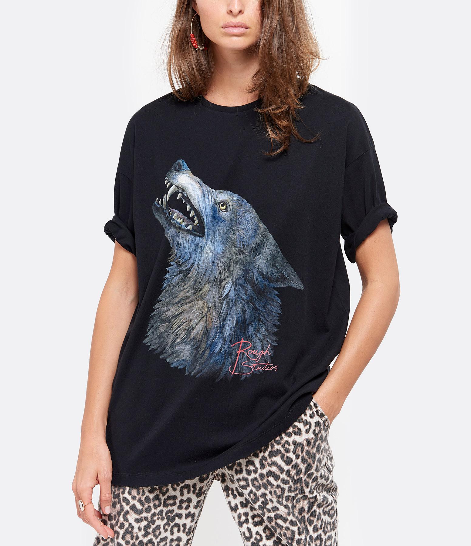 ROUGH STUDIOS - Tee-shirt Chris Coton Noir